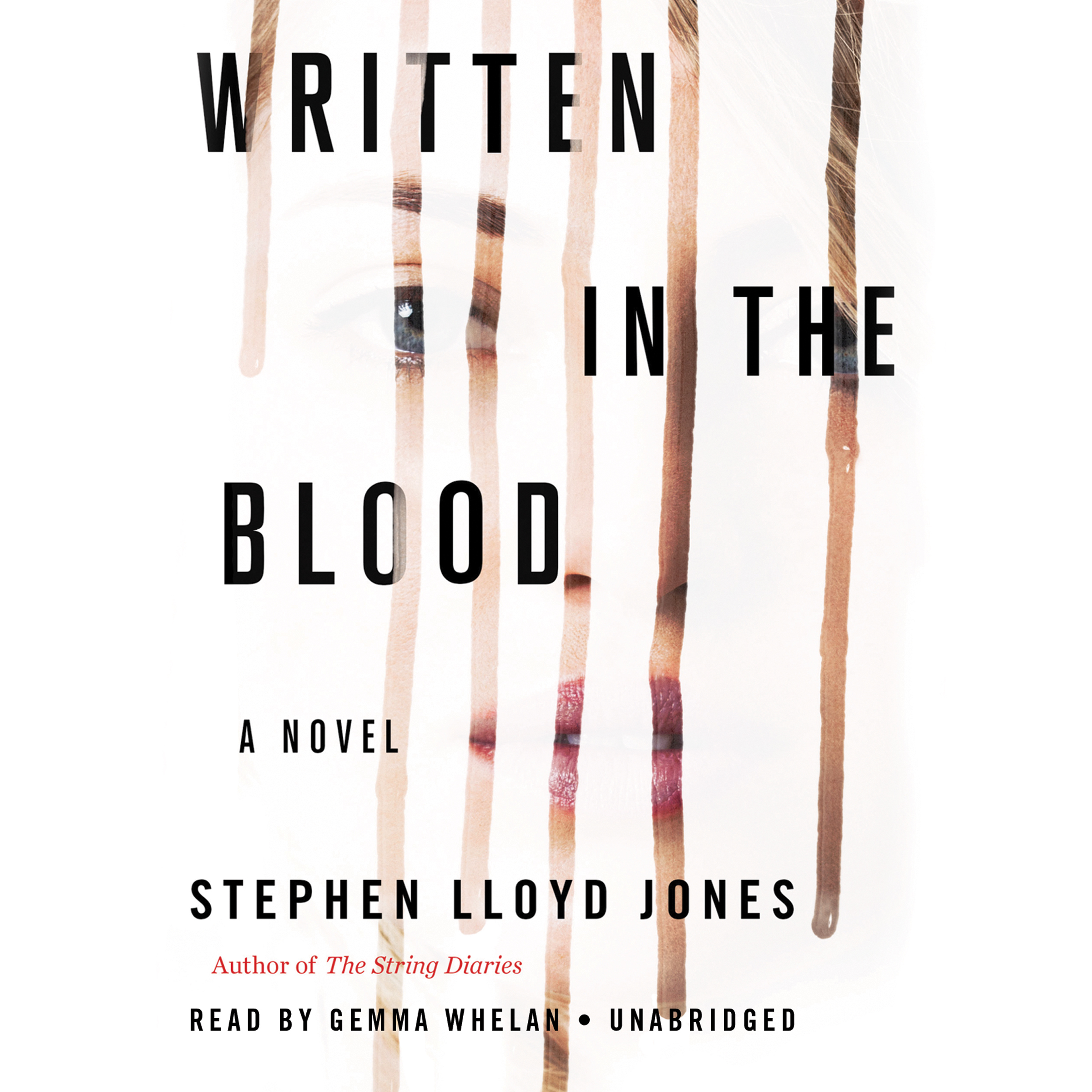 Printable Written in the Blood Audiobook Cover Art