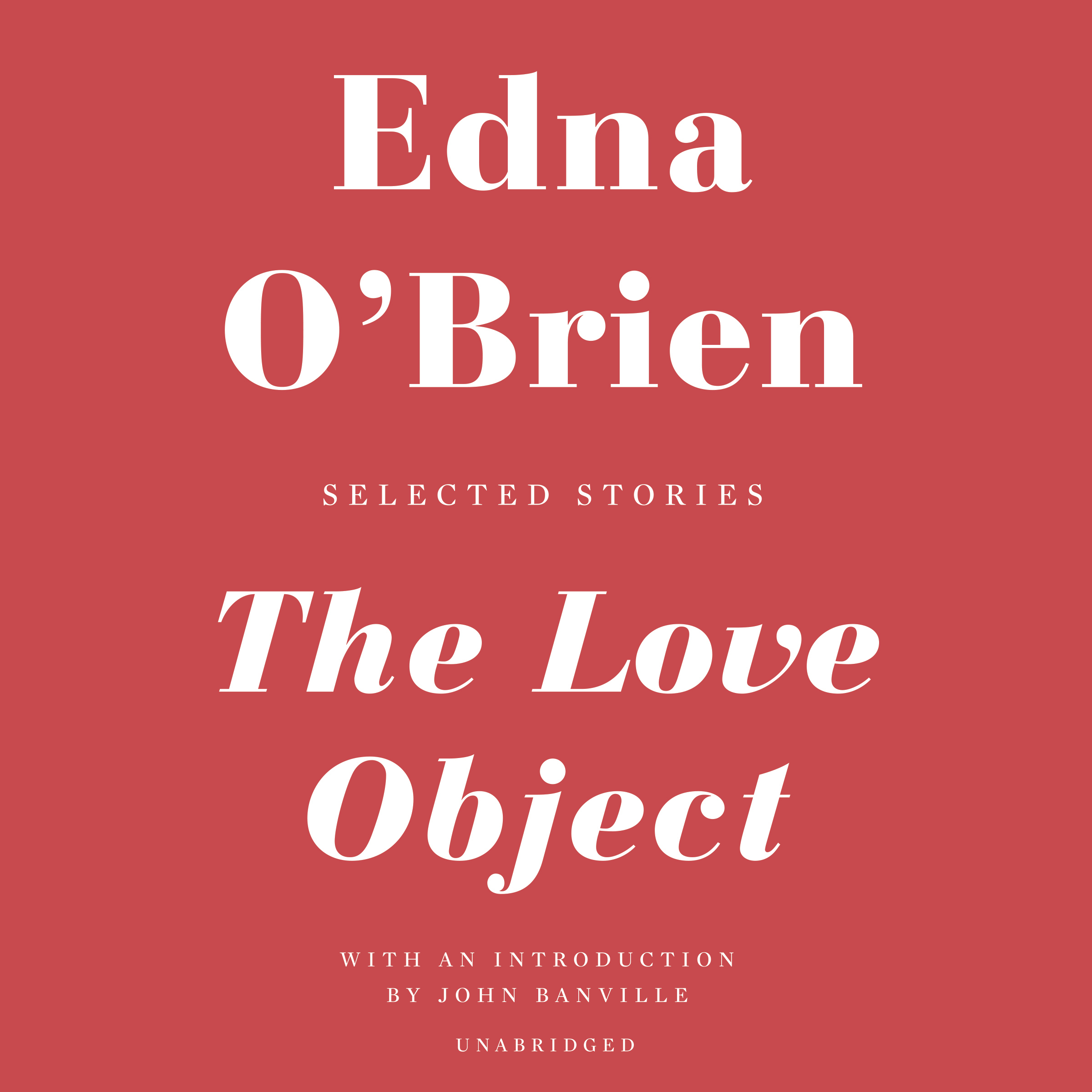 Printable The Love Object: Selected Stories Audiobook Cover Art