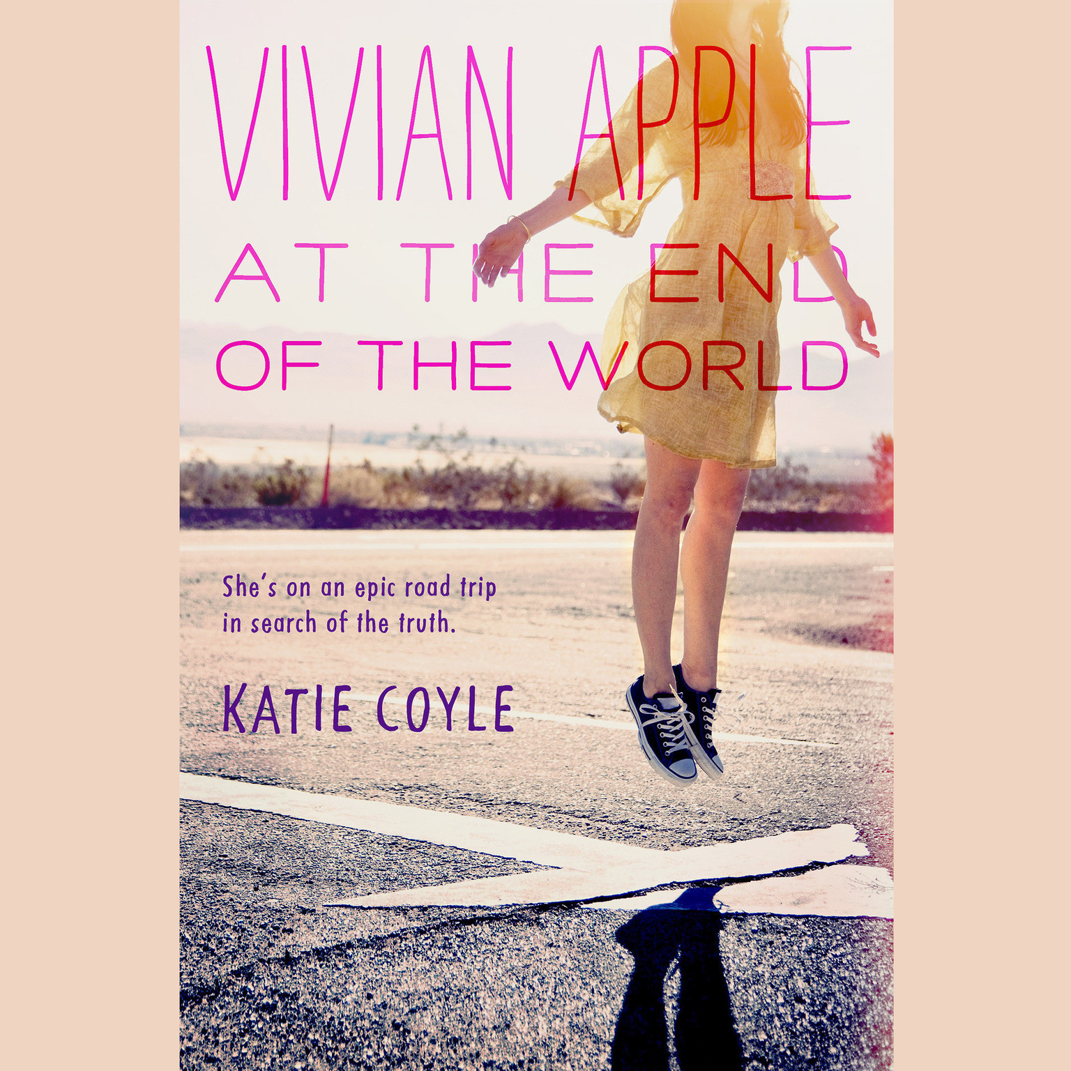 Printable Vivian Apple at the End of the World Audiobook Cover Art