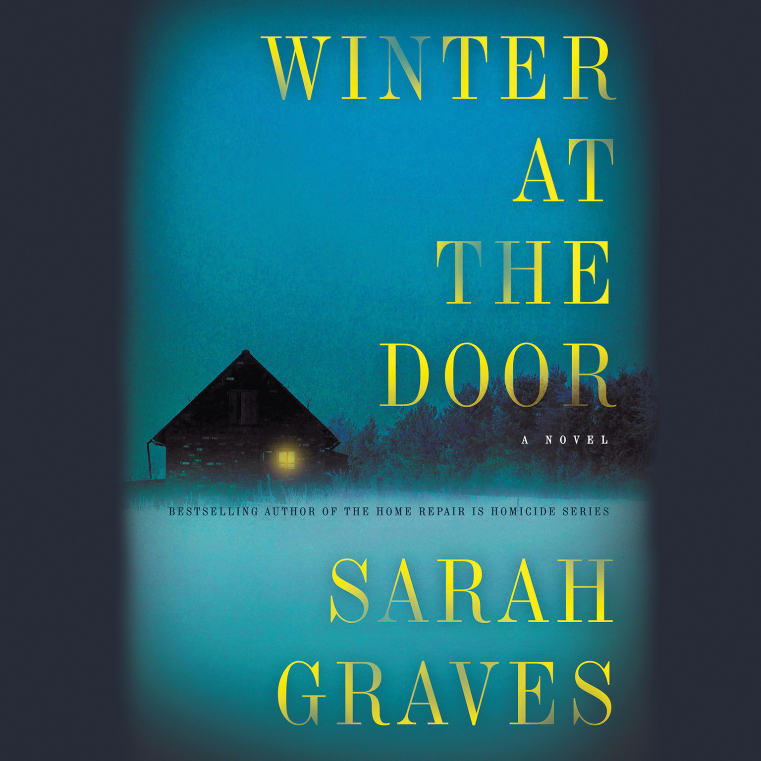 Printable Winter at the Door: A Lizzie Snow Mystery Audiobook Cover Art