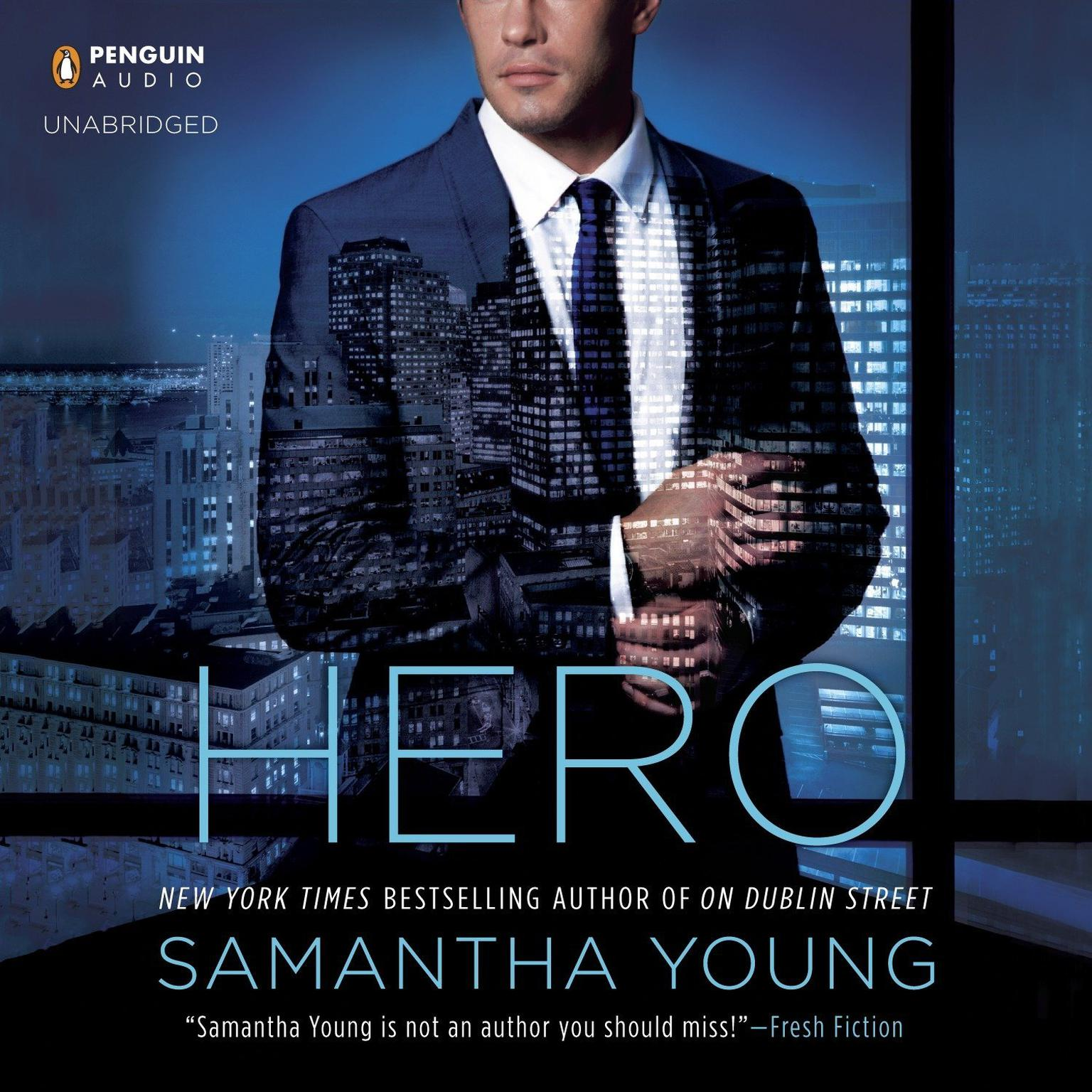 Printable Hero Audiobook Cover Art