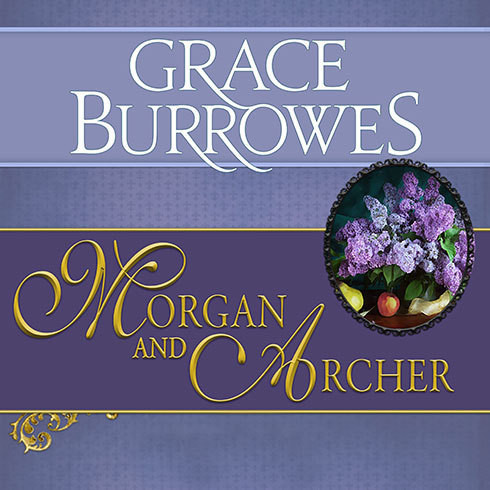 Printable Morgan and Archer Audiobook Cover Art