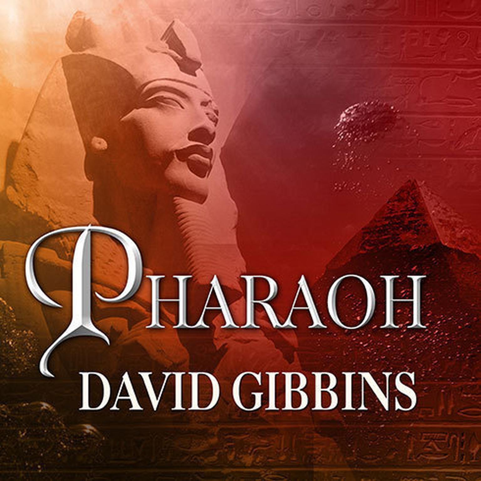 Printable Pharaoh: A Novel Audiobook Cover Art