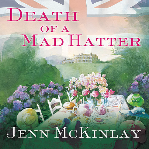 Printable Death of a Mad Hatter Audiobook Cover Art