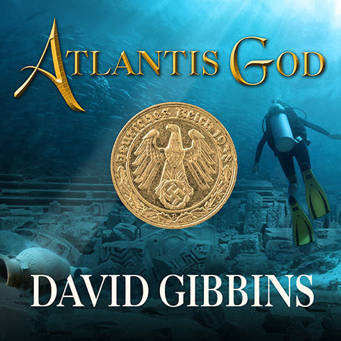 Printable Atlantis God Audiobook Cover Art