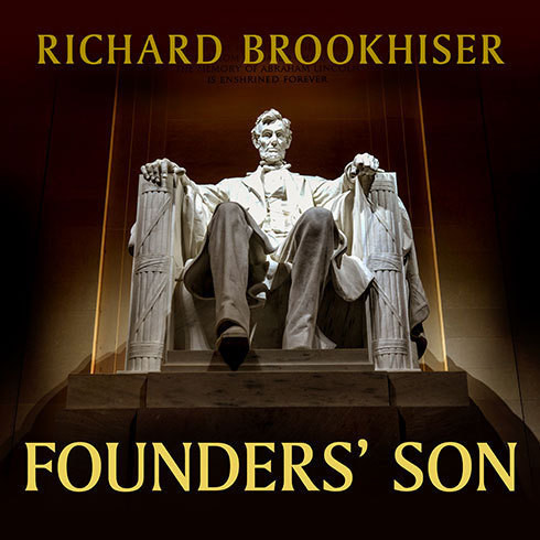 Printable Founders' Son: A Life of Abraham Lincoln Audiobook Cover Art