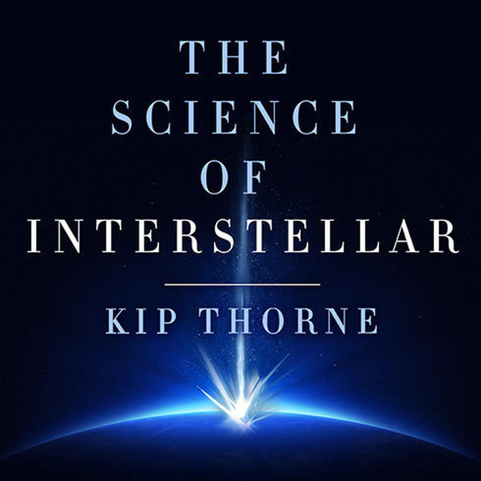 Printable The Science of Interstellar Audiobook Cover Art