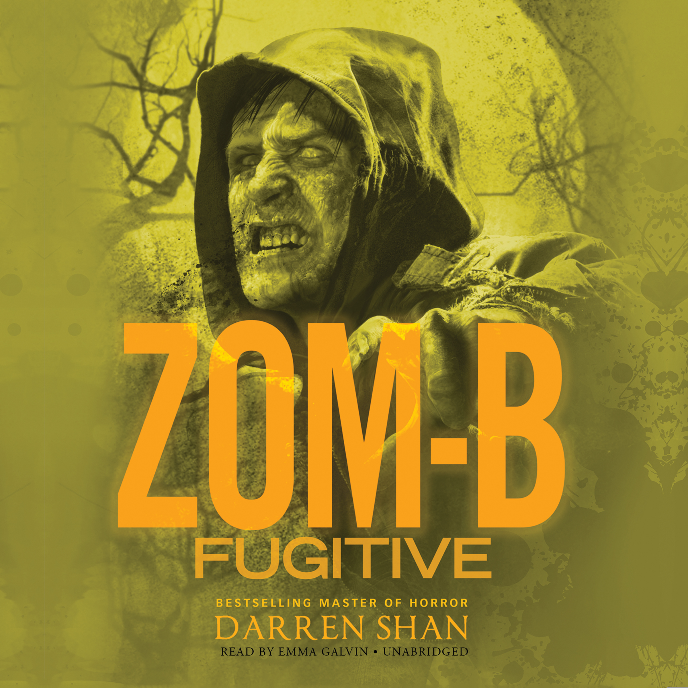 Printable Zom-B Fugitive Audiobook Cover Art