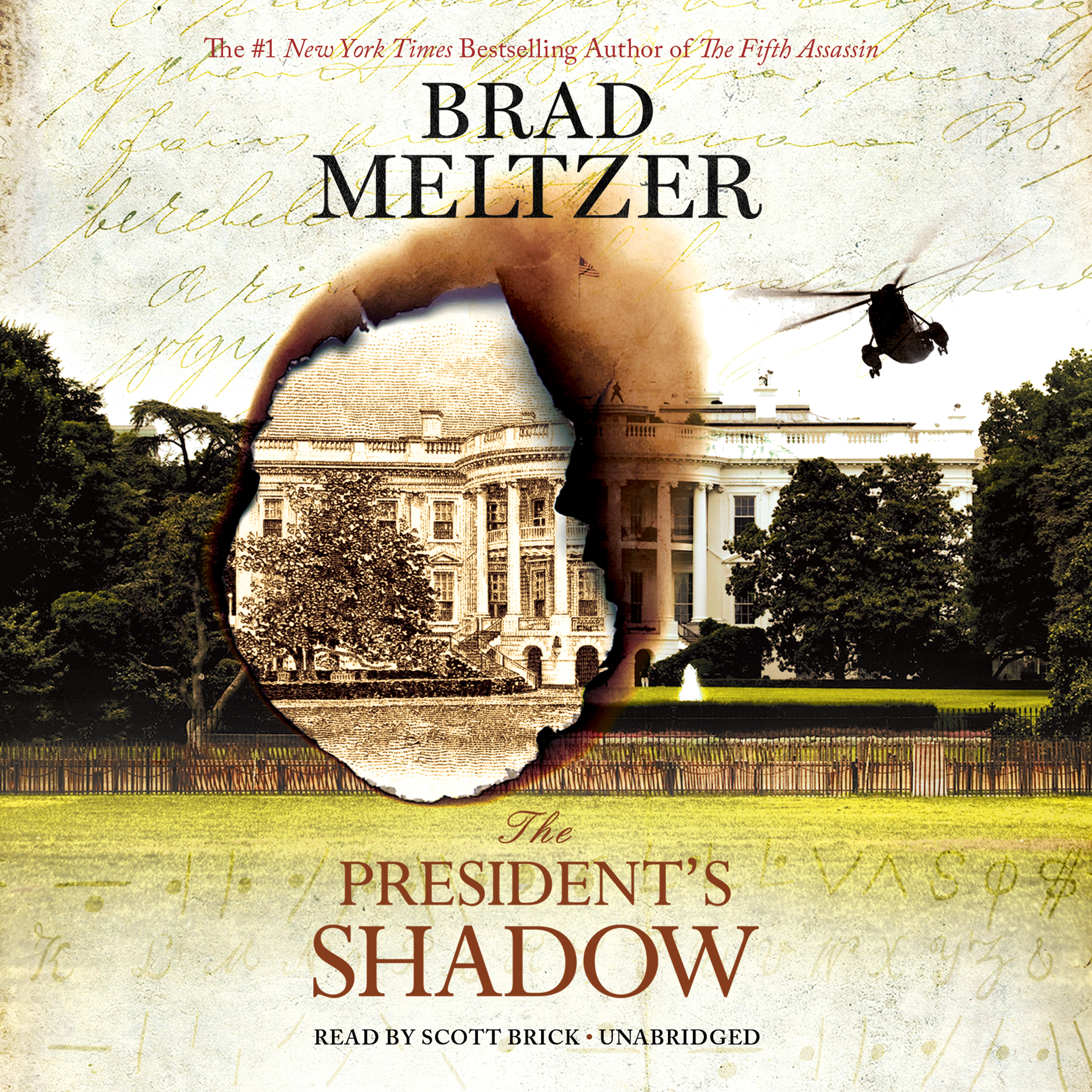 Printable The President's Shadow Audiobook Cover Art