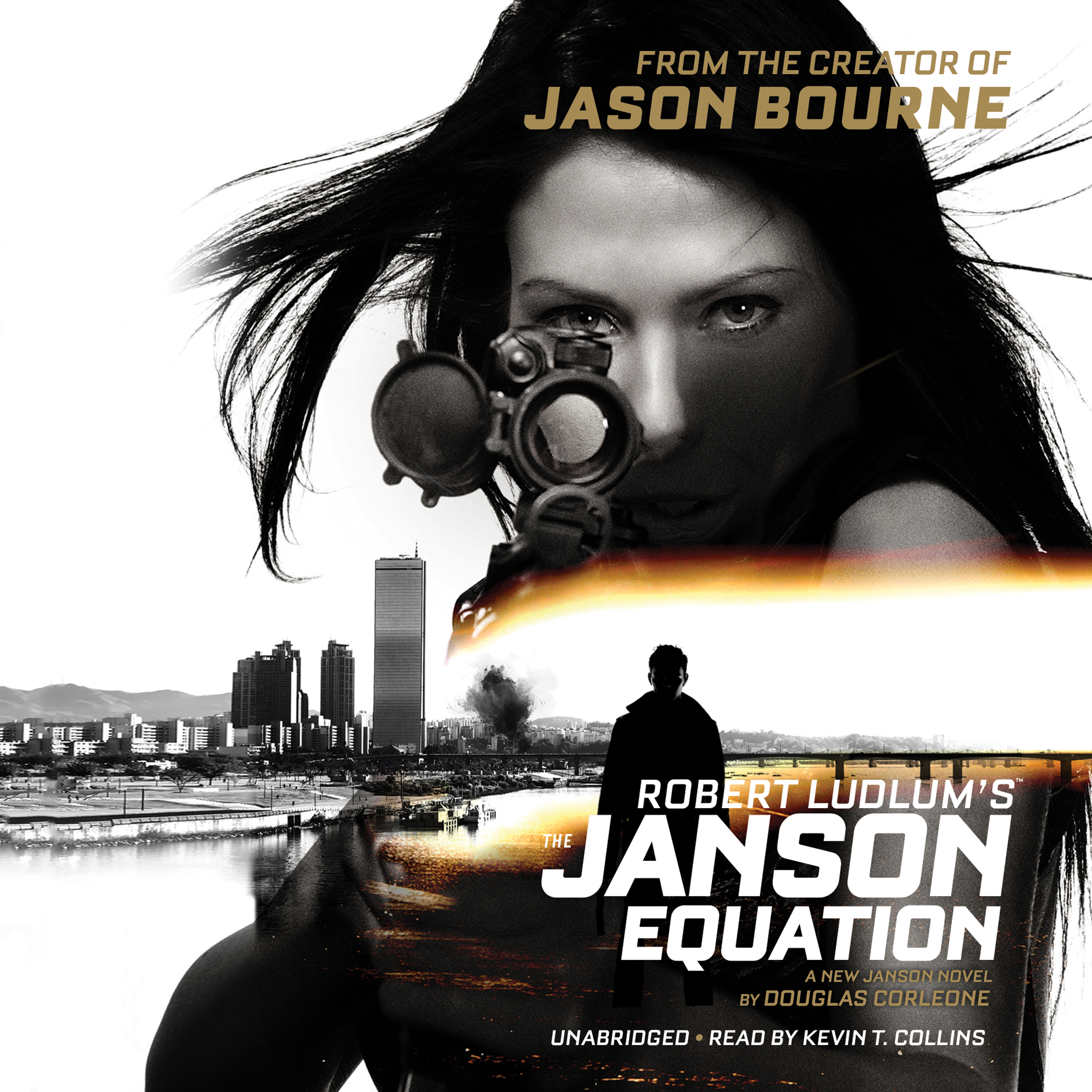 Printable Robert Ludlum's The Janson Equation Audiobook Cover Art