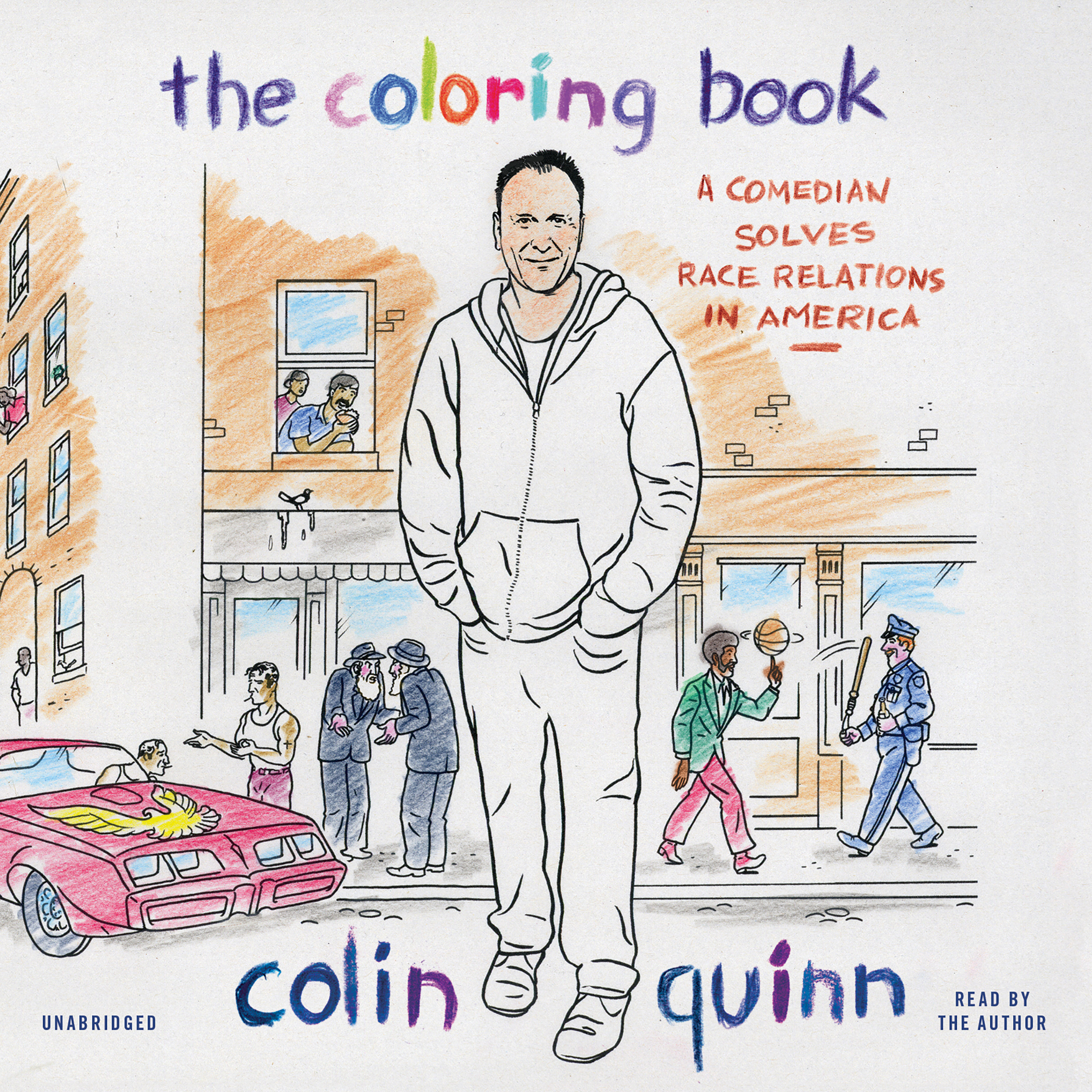 Printable The Coloring Book: A Comedian Solves Race Relations in America Audiobook Cover Art