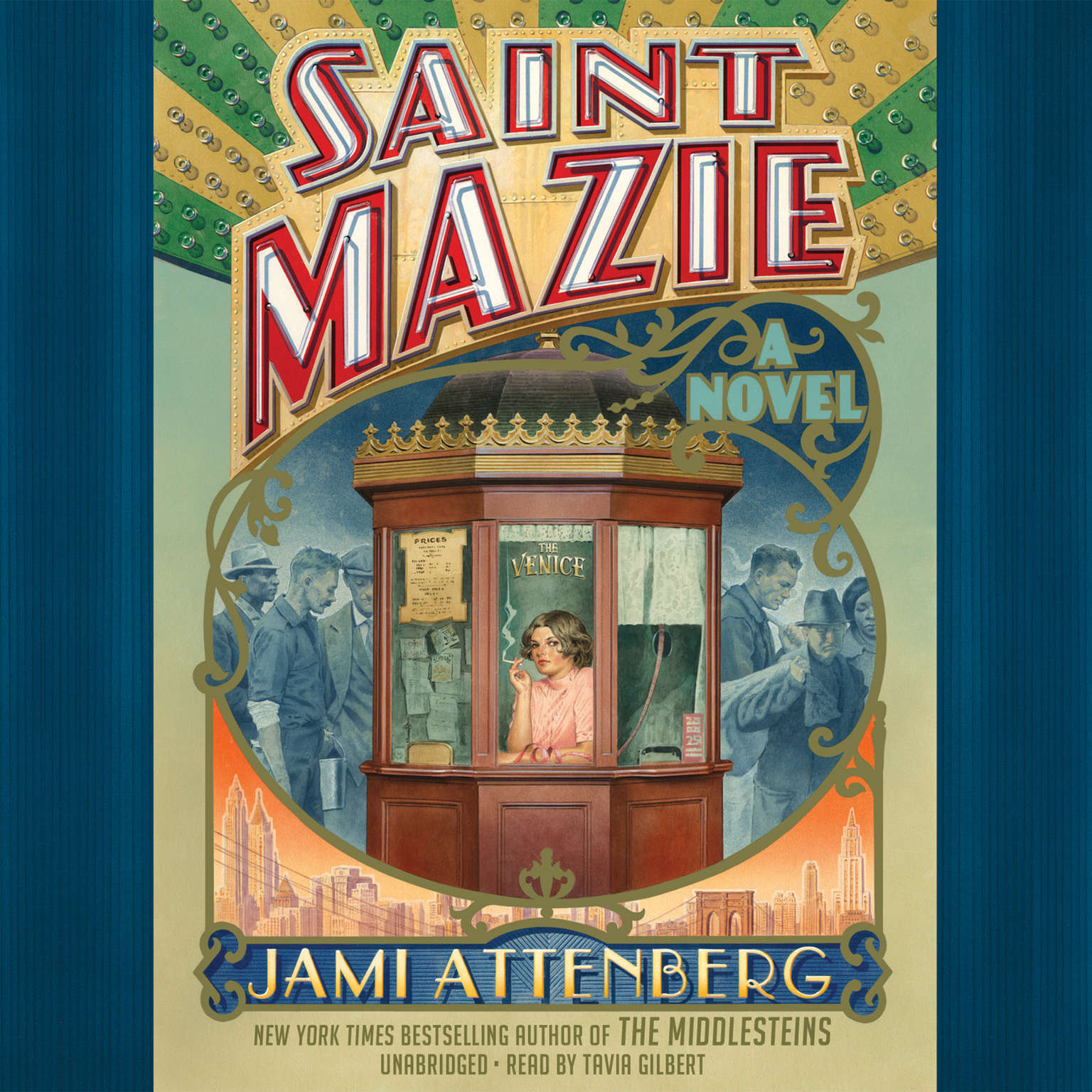Saint Mazie: A Novel Audiobook, by Jami Attenberg