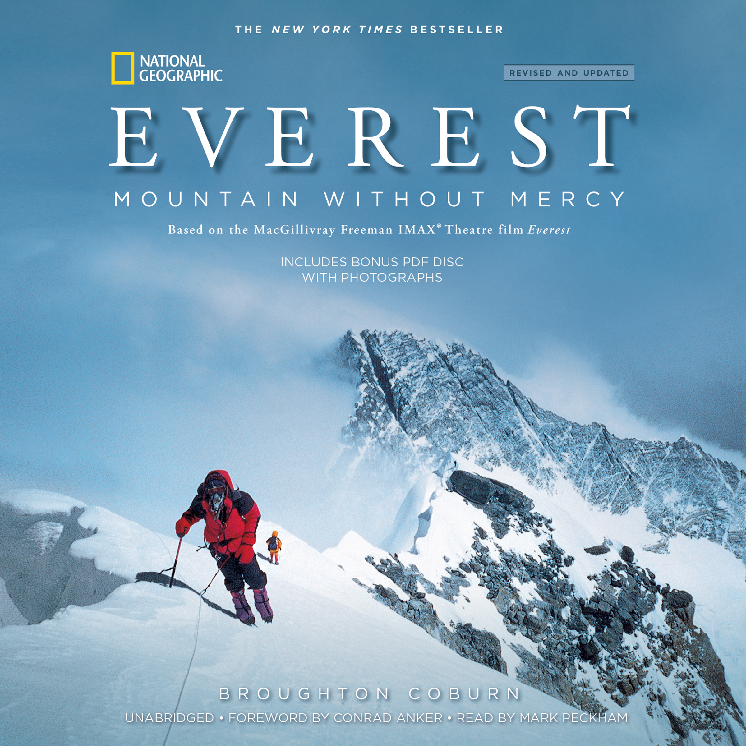 Printable Everest, Revised & Updated Edition: Mountain without Mercy Audiobook Cover Art