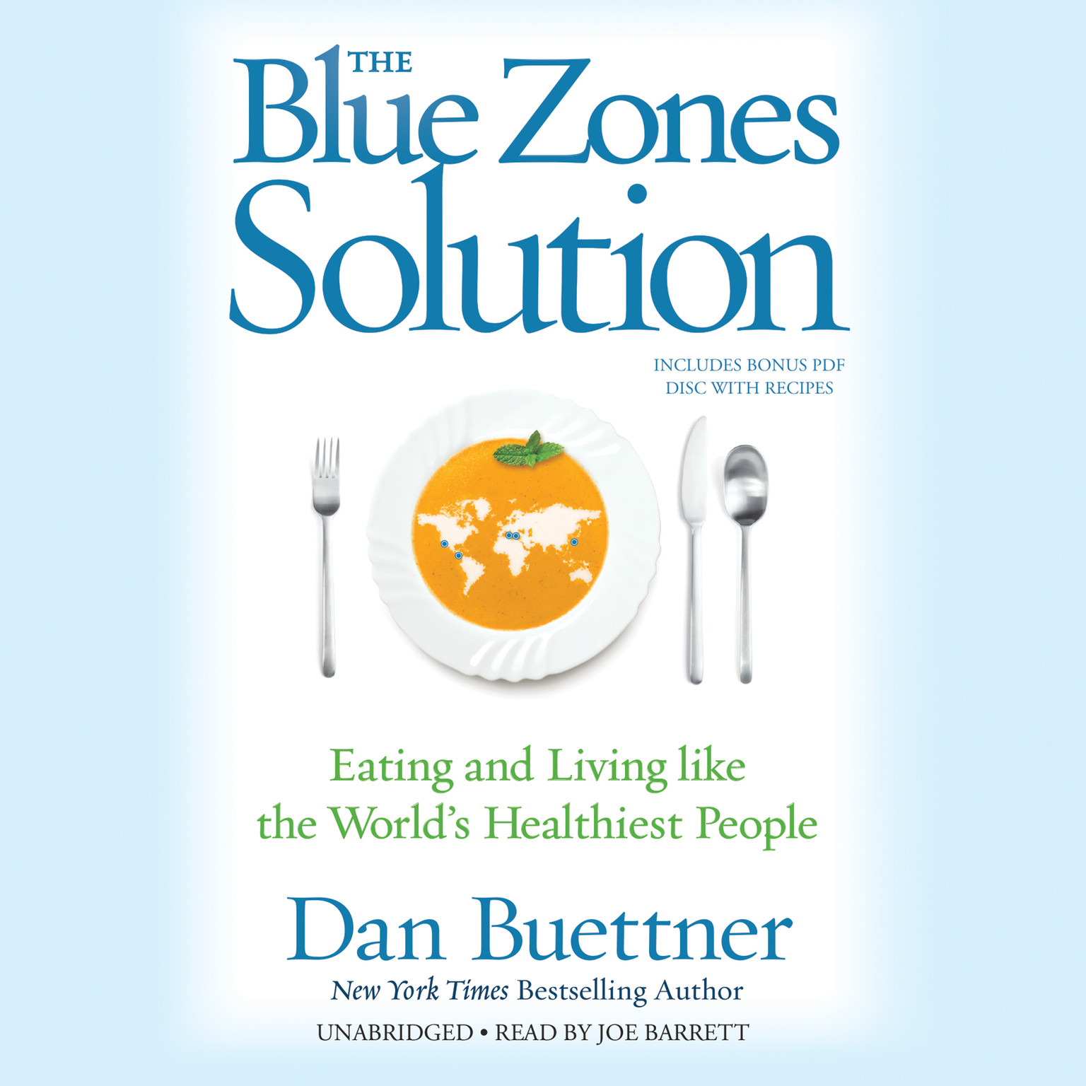 Printable The Blue Zones Solution: Eating and Living like the World's Healthiest People Audiobook Cover Art