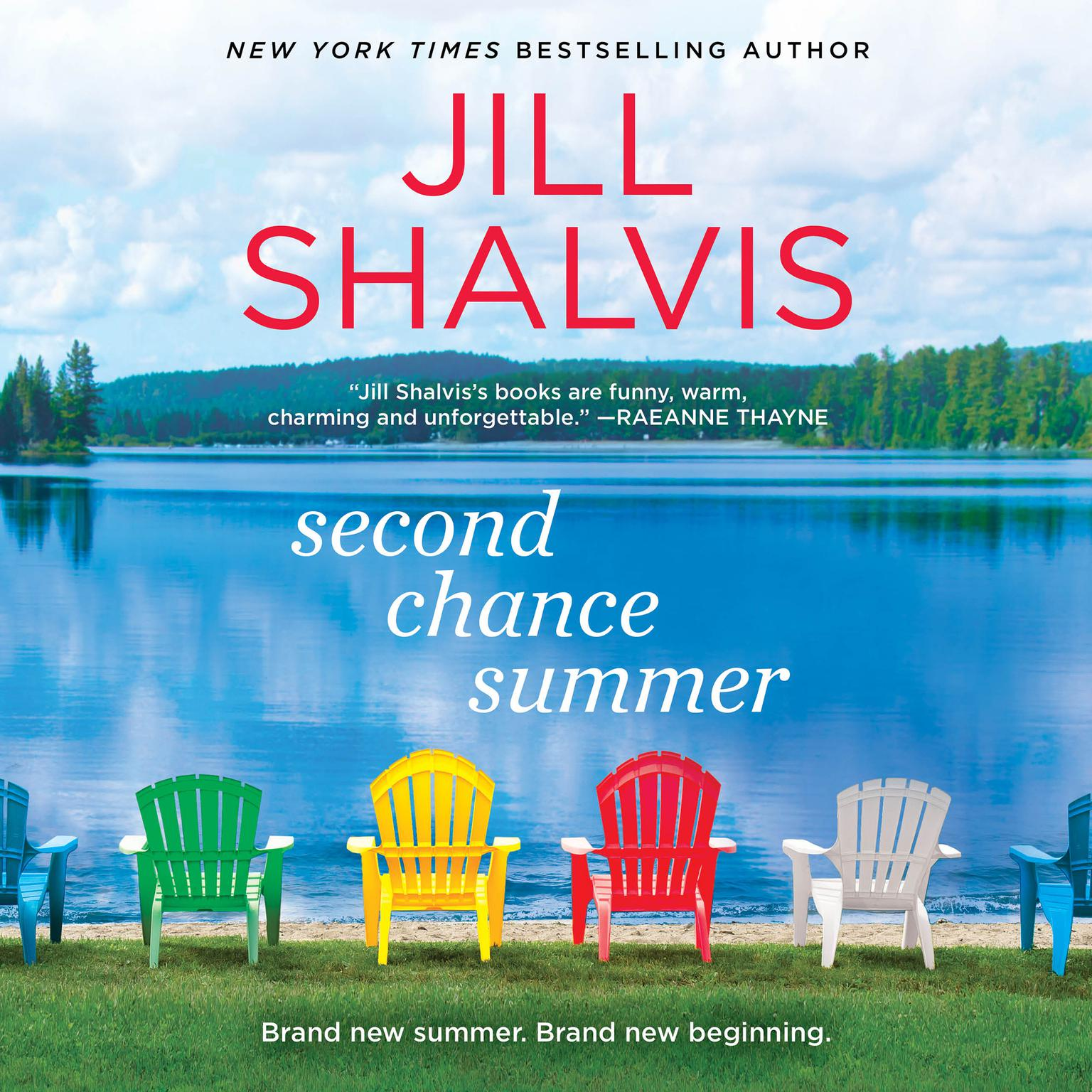 Printable Second Chance Summer Audiobook Cover Art