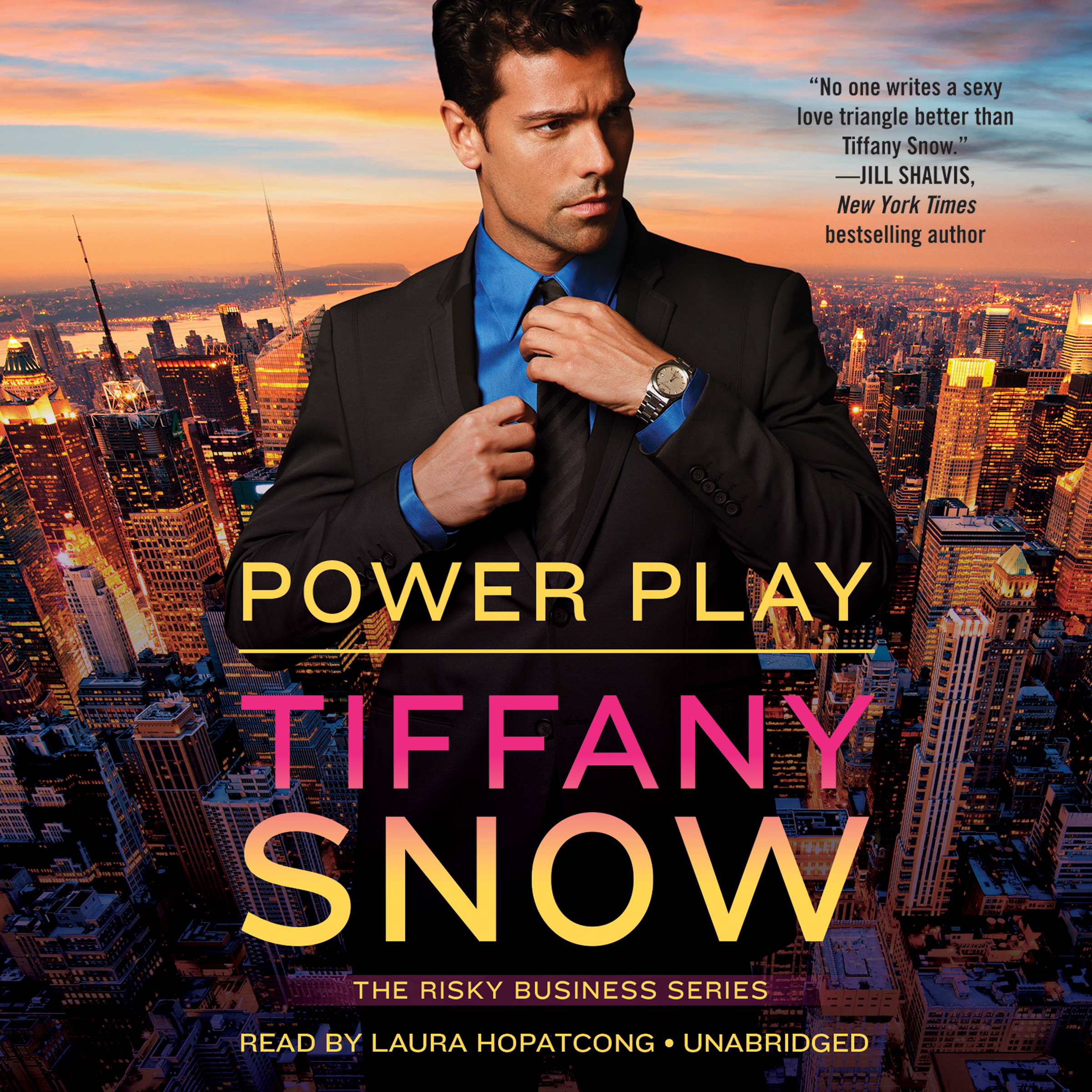 Printable Power Play Audiobook Cover Art