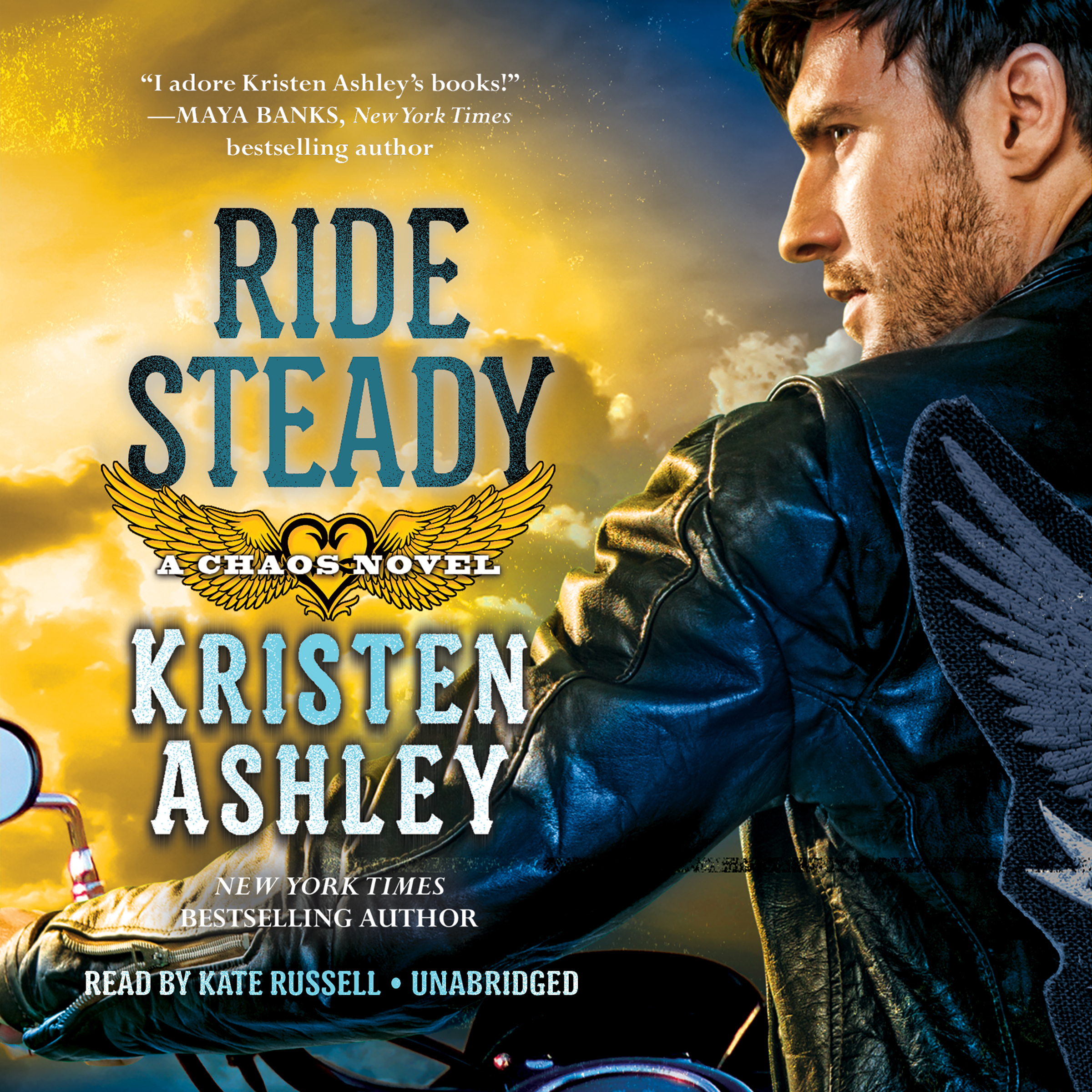 Printable Ride Steady Audiobook Cover Art