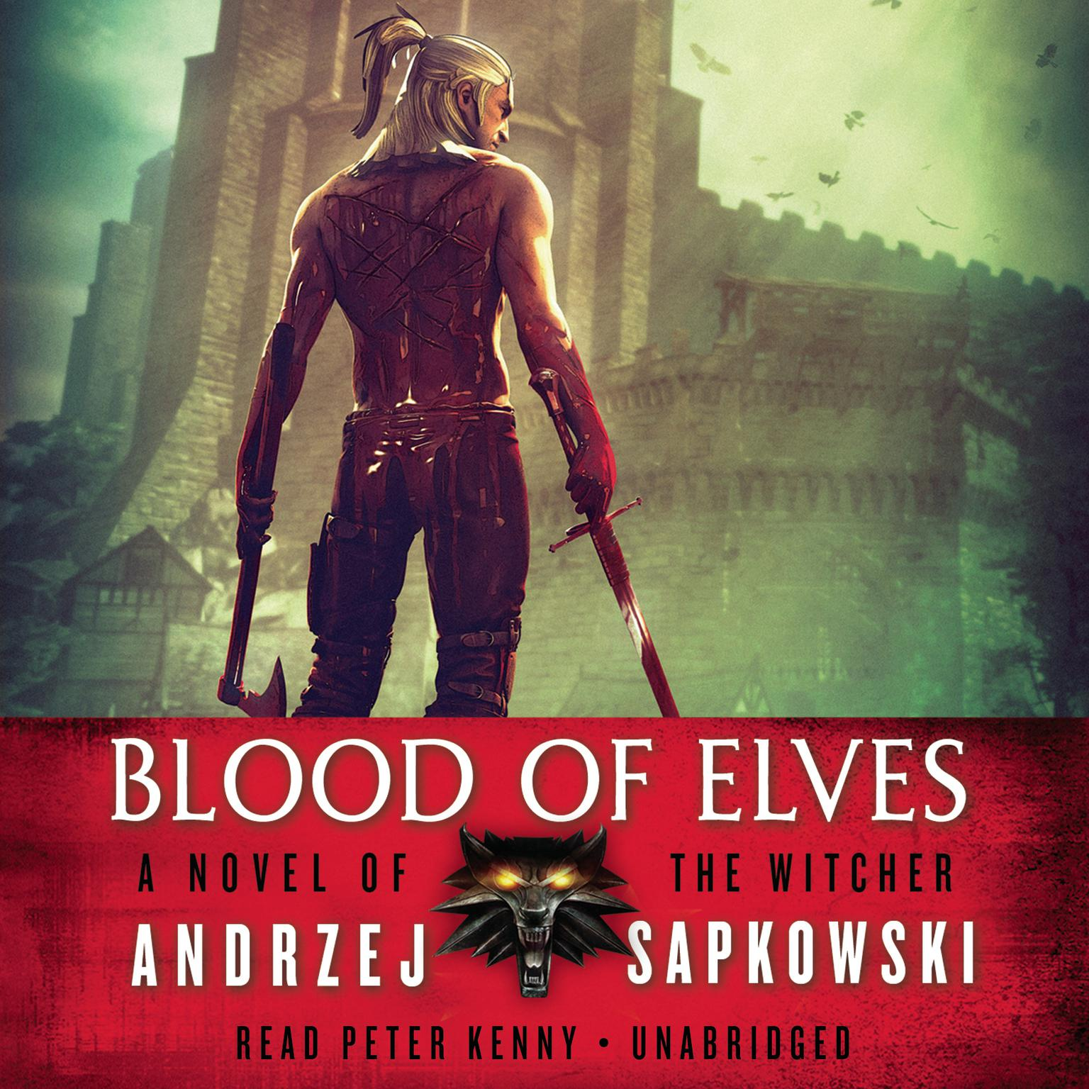 Printable Blood of Elves Audiobook Cover Art