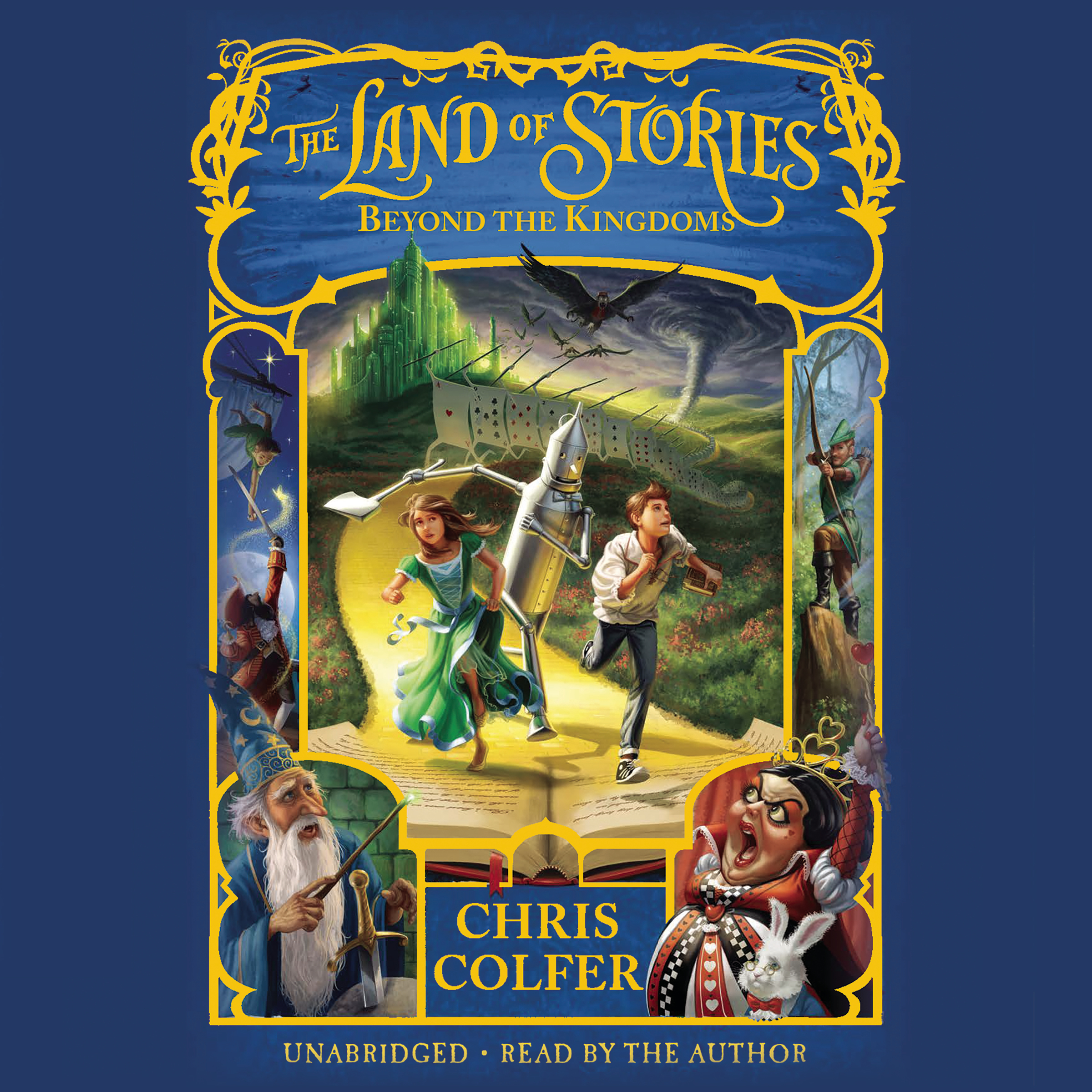Printable The Land of Stories: Beyond the Kingdoms Audiobook Cover Art