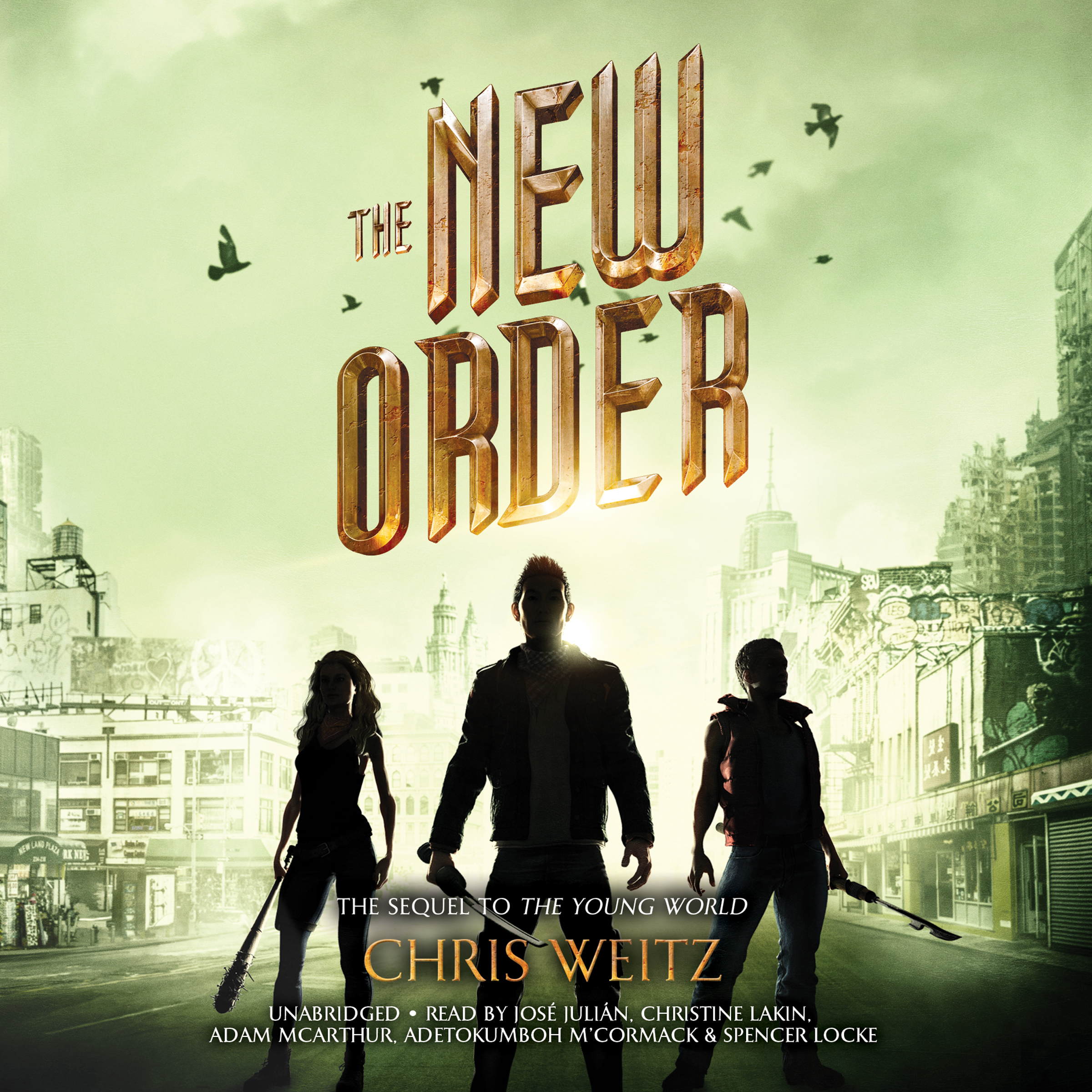 Printable The New Order Audiobook Cover Art