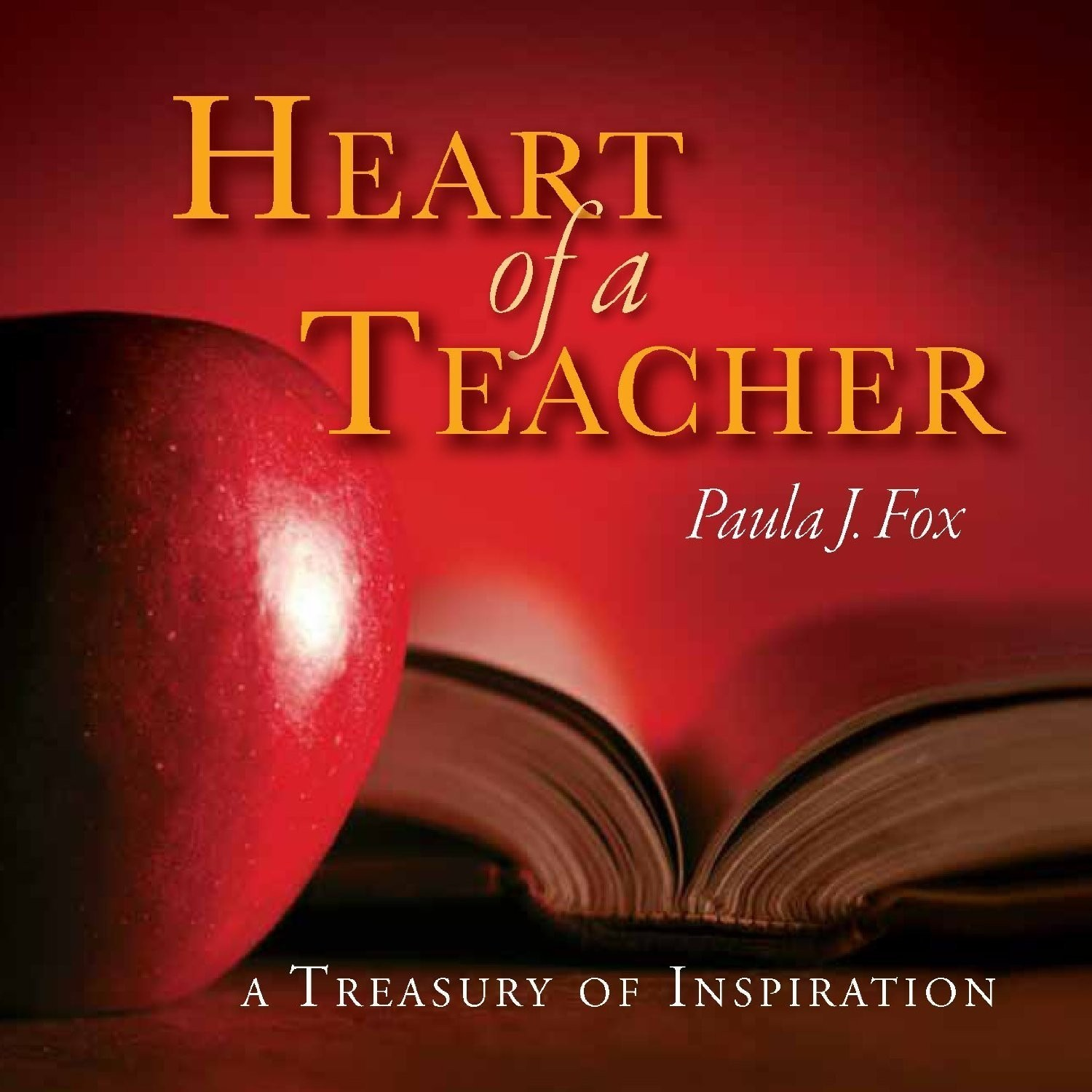 Printable The Heart of a Teacher: A Treasury of Inspiration Audiobook Cover Art
