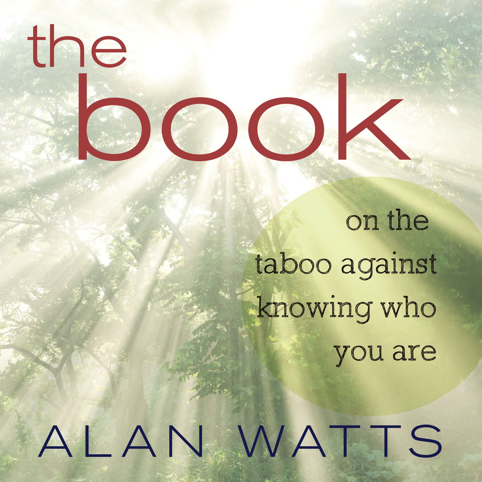 Printable The Book: On the Taboo Against Knowing Who You Are Audiobook Cover Art