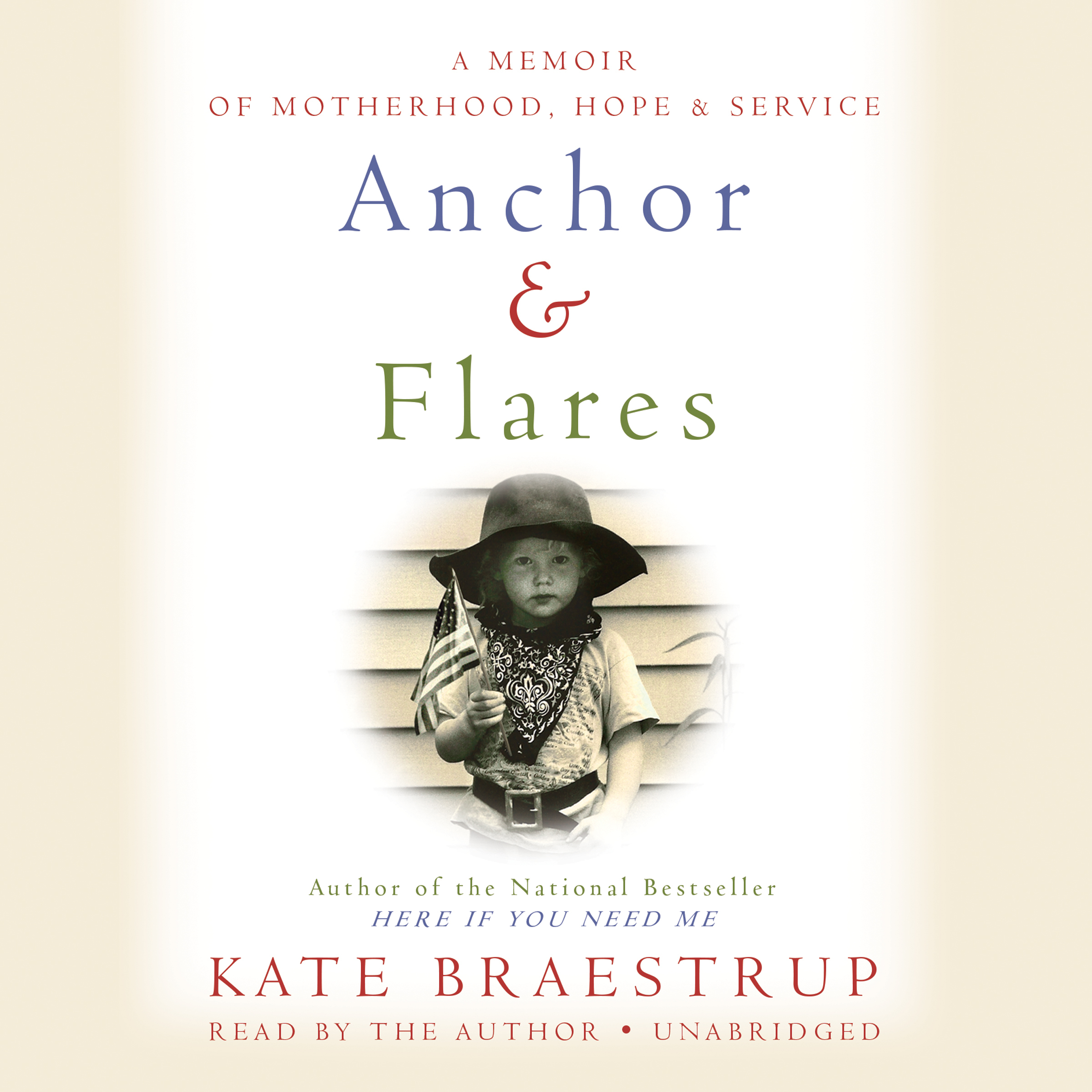 Printable Anchor and Flares: A Memoir of Motherhood, Hope, and Service Audiobook Cover Art