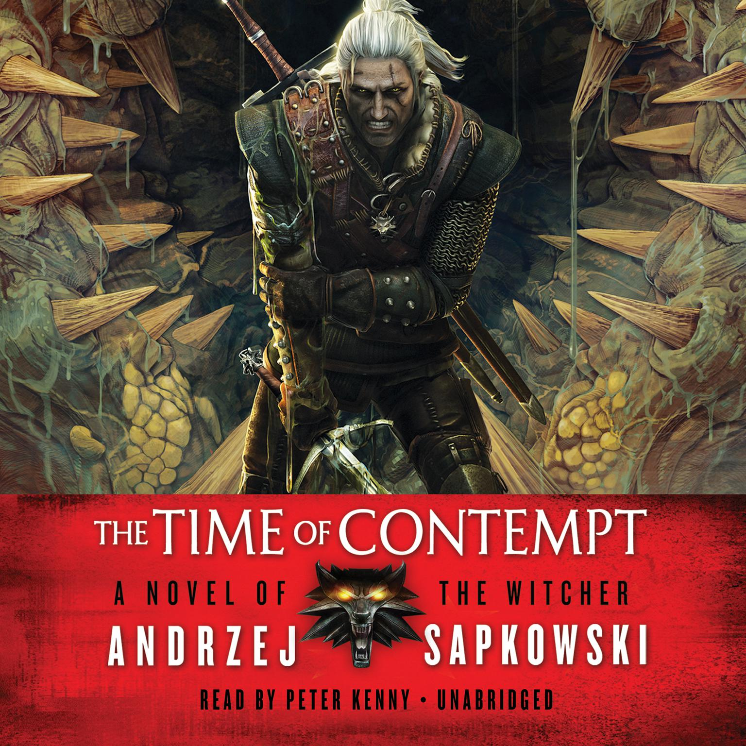 Printable The Time of Contempt Audiobook Cover Art