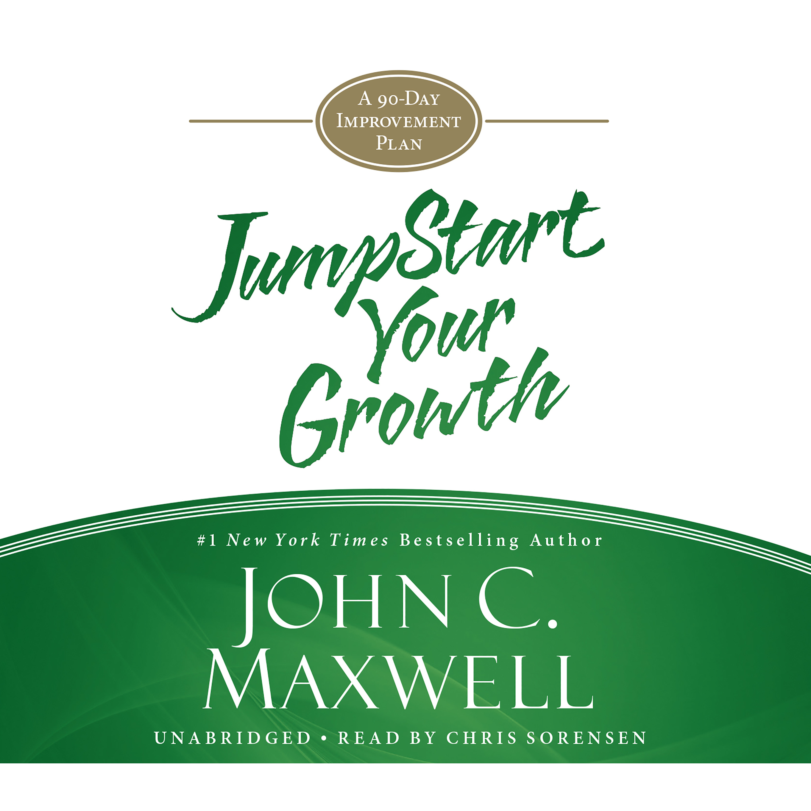 Printable JumpStart Your Growth: A 90-Day Improvement Plan Audiobook Cover Art