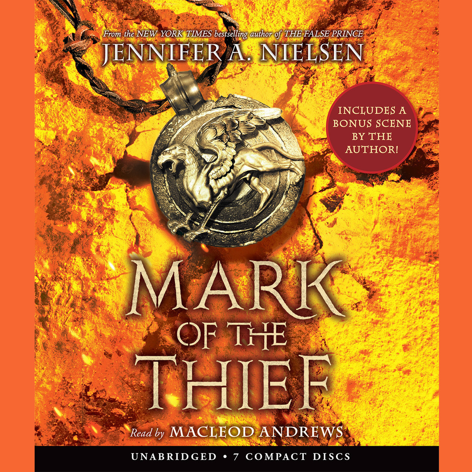 Printable Mark of the Thief Audiobook Cover Art