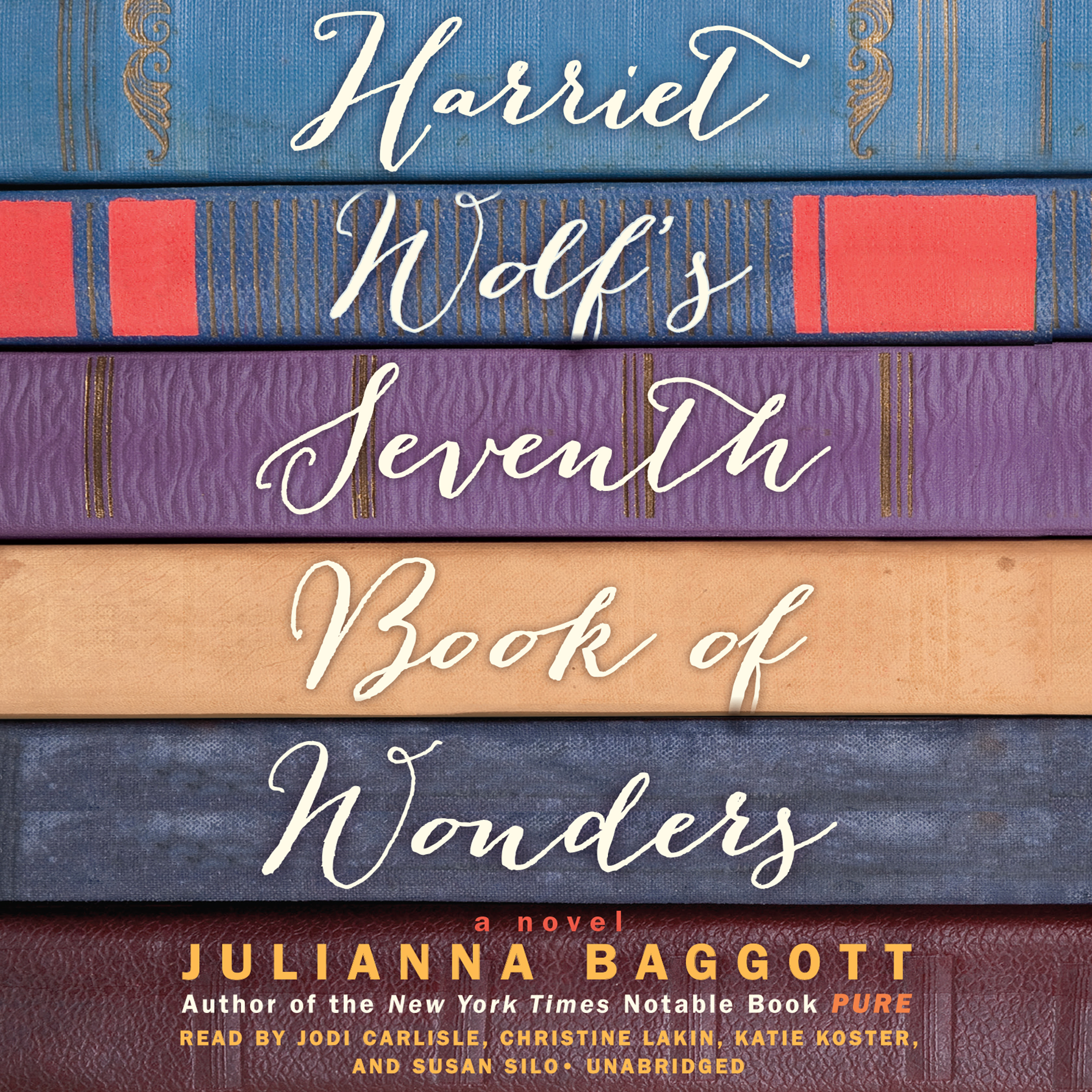 Printable Harriet Wolf's Seventh Book of Wonders: A Novel Audiobook Cover Art