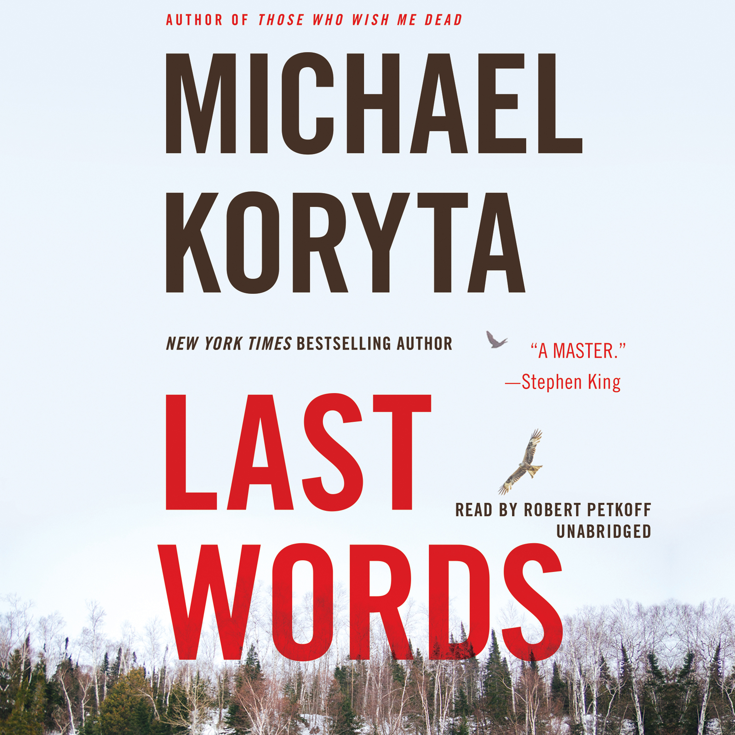 Printable Last Words Audiobook Cover Art