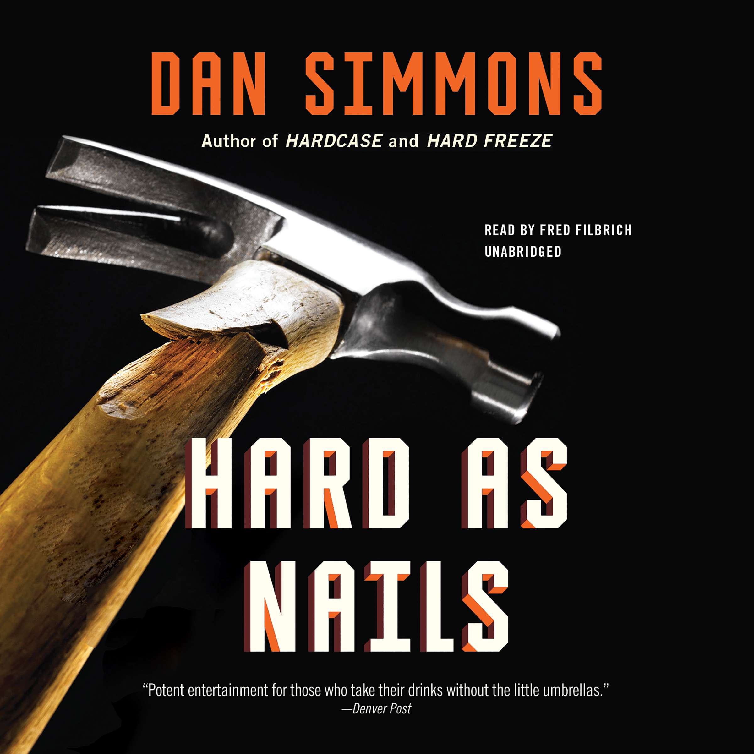 Printable Hard as Nails Audiobook Cover Art