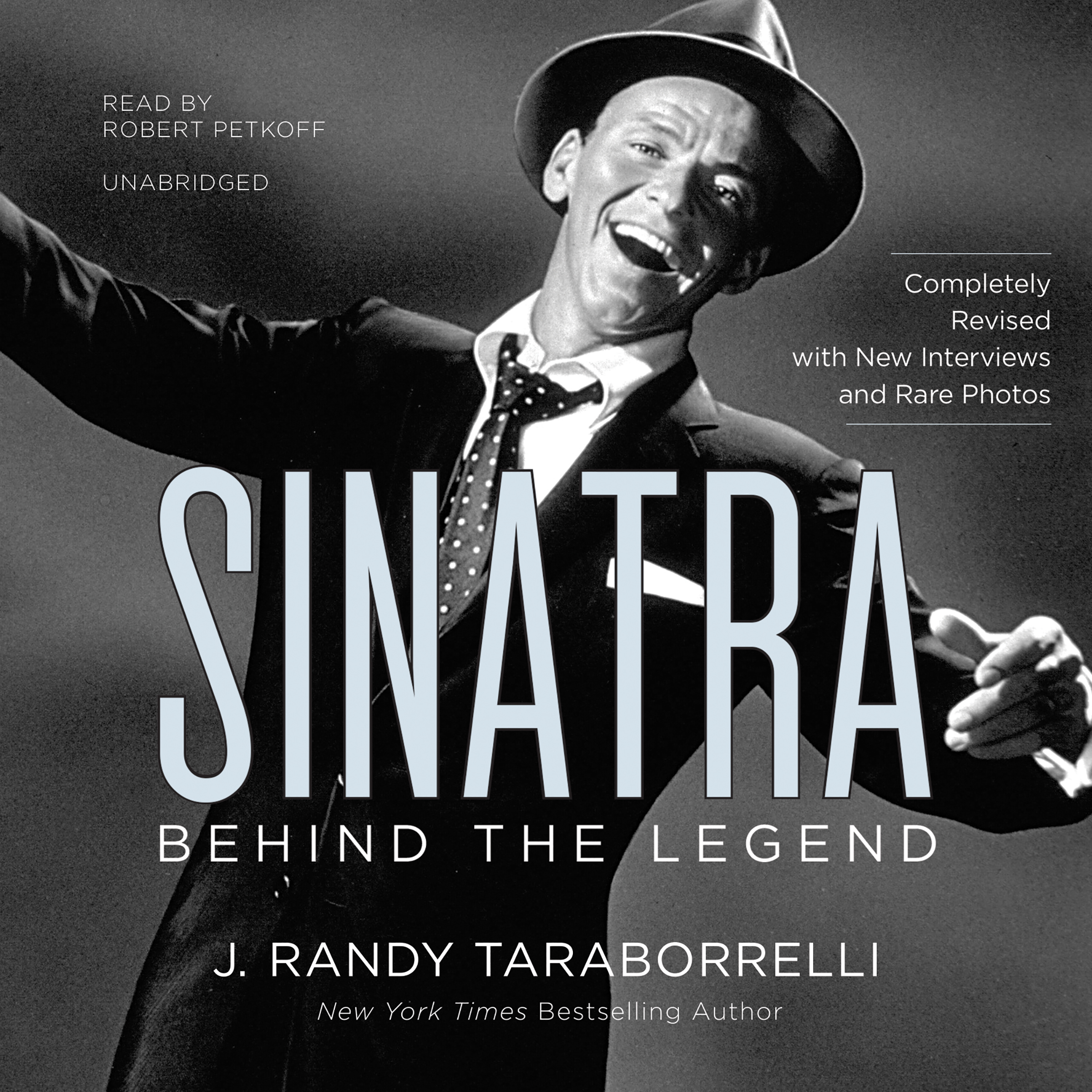 Printable Sinatra: Behind the Legend Audiobook Cover Art
