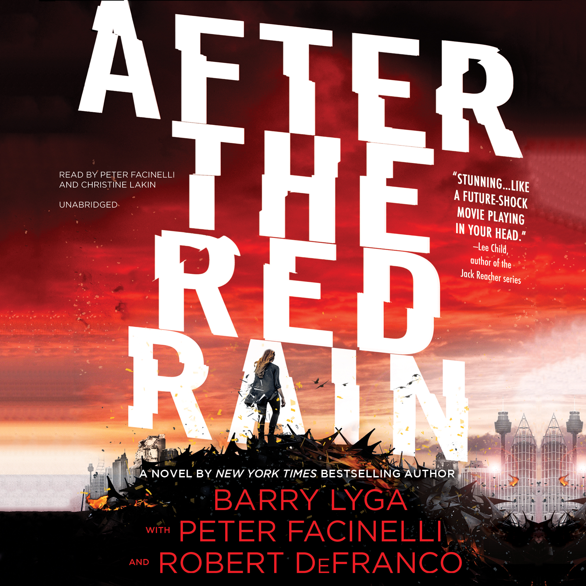 Printable After the Red Rain Audiobook Cover Art