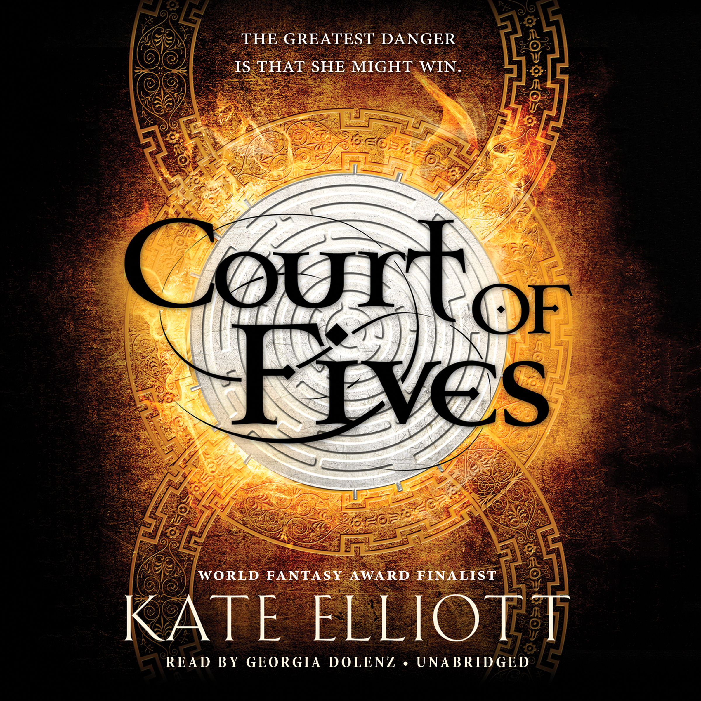 Printable Court of Fives Audiobook Cover Art