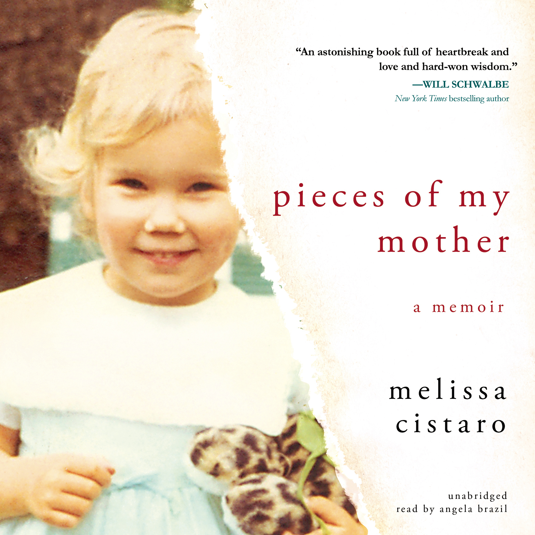 Printable Pieces of My Mother: A Memoir Audiobook Cover Art