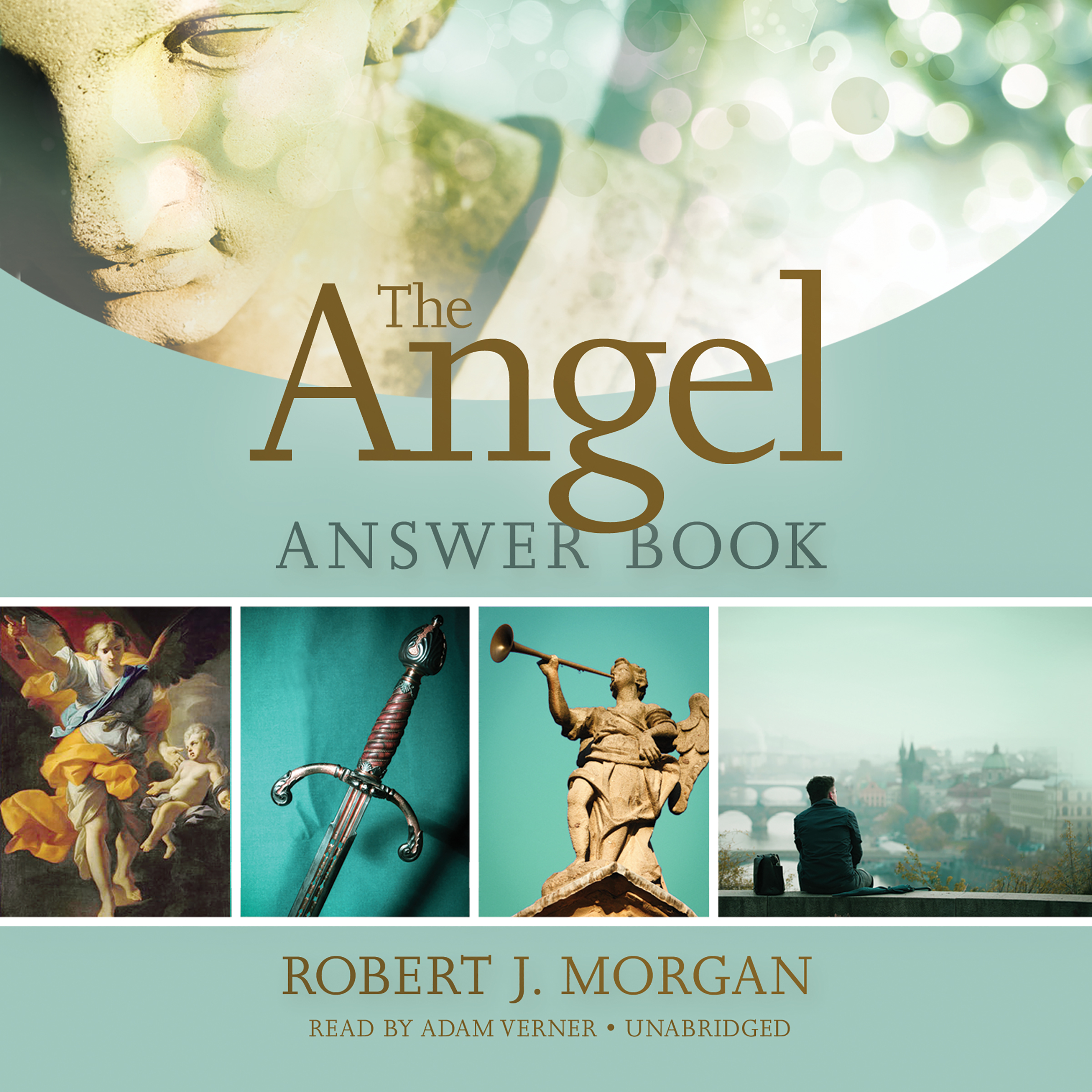Printable The Angel Answer Book Audiobook Cover Art
