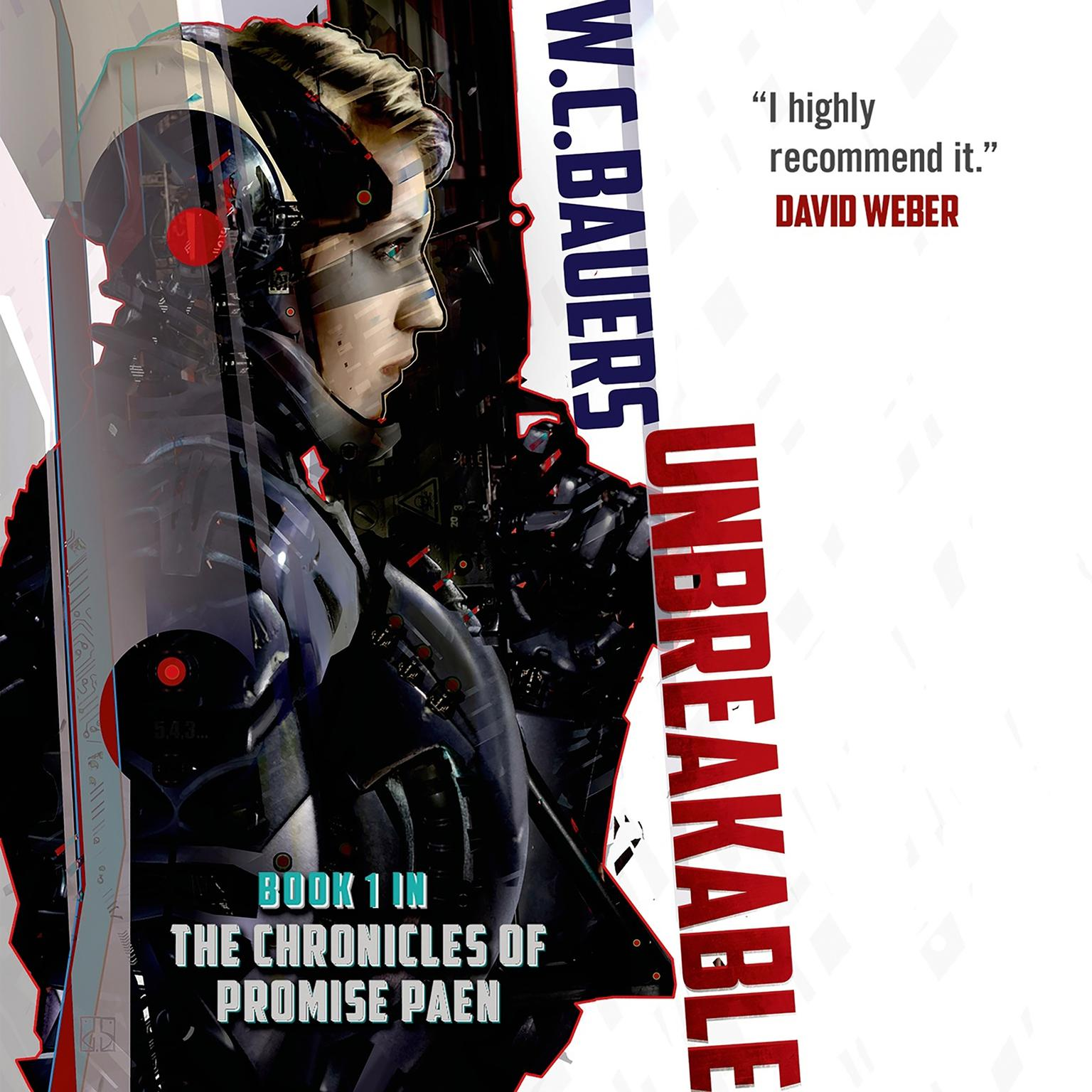 Printable Unbreakable: A Novel Audiobook Cover Art