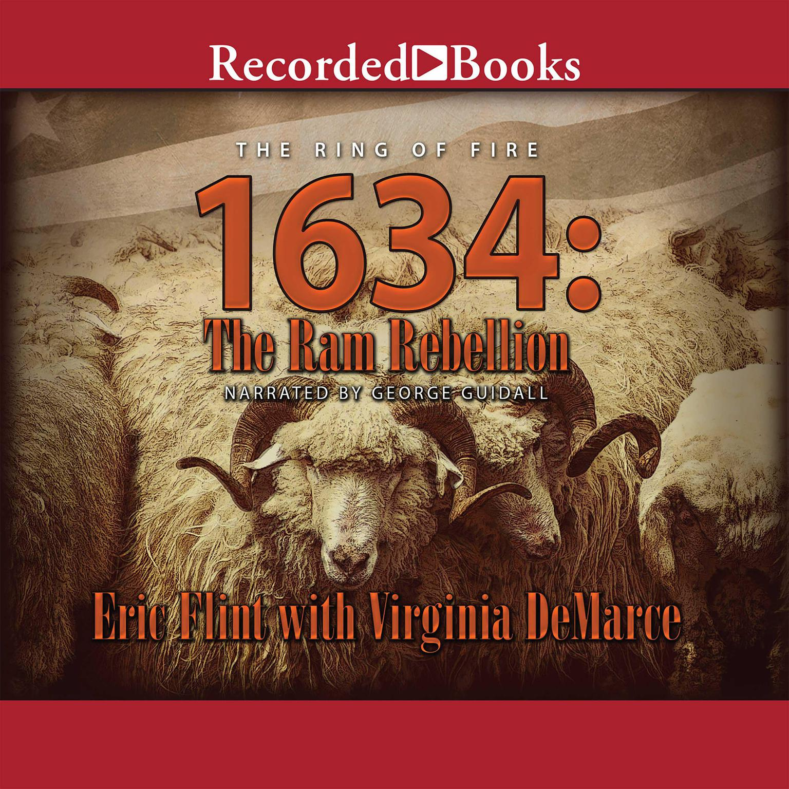 Printable 1634: The Ram Rebellion Audiobook Cover Art