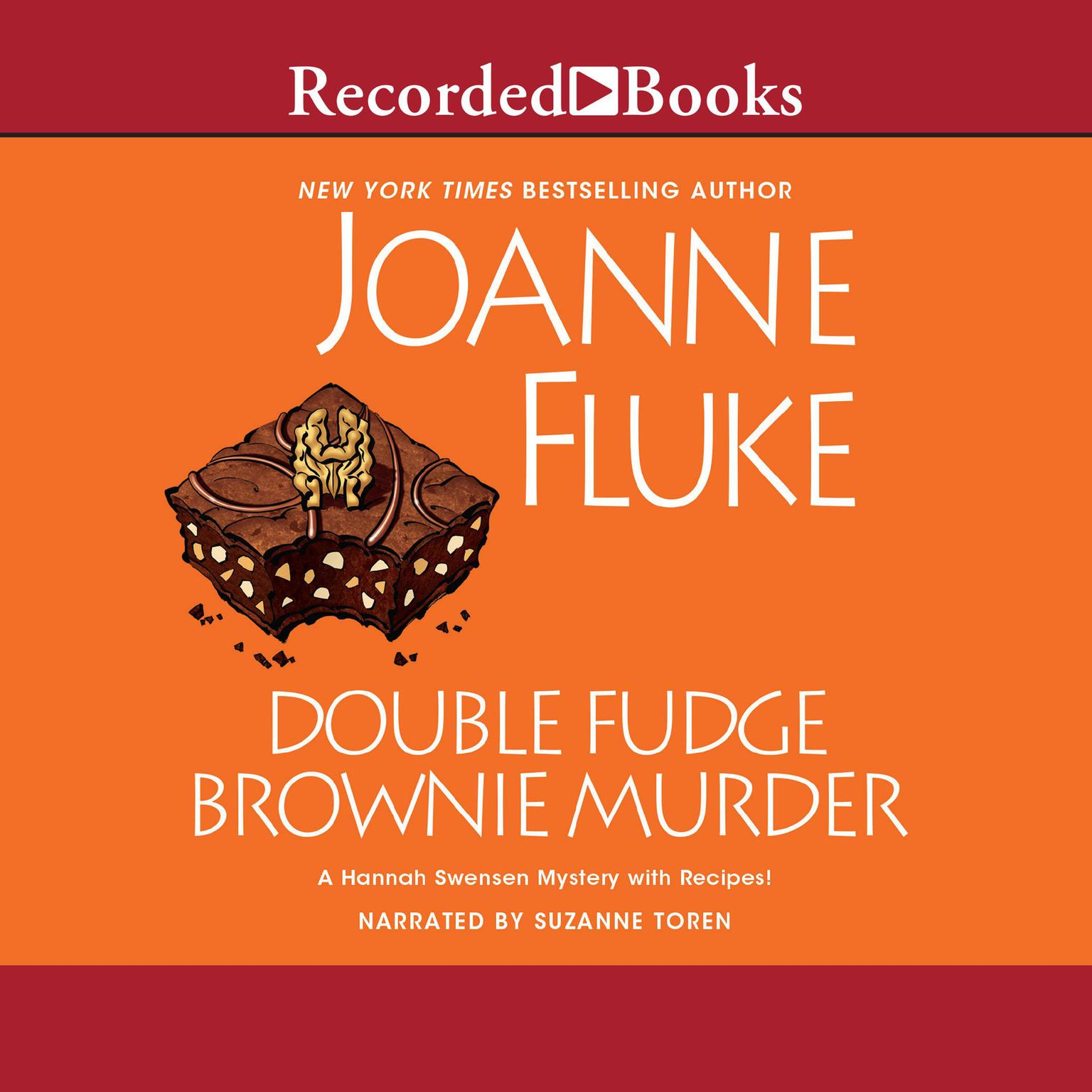 Printable Double Fudge Brownie Murder Audiobook Cover Art