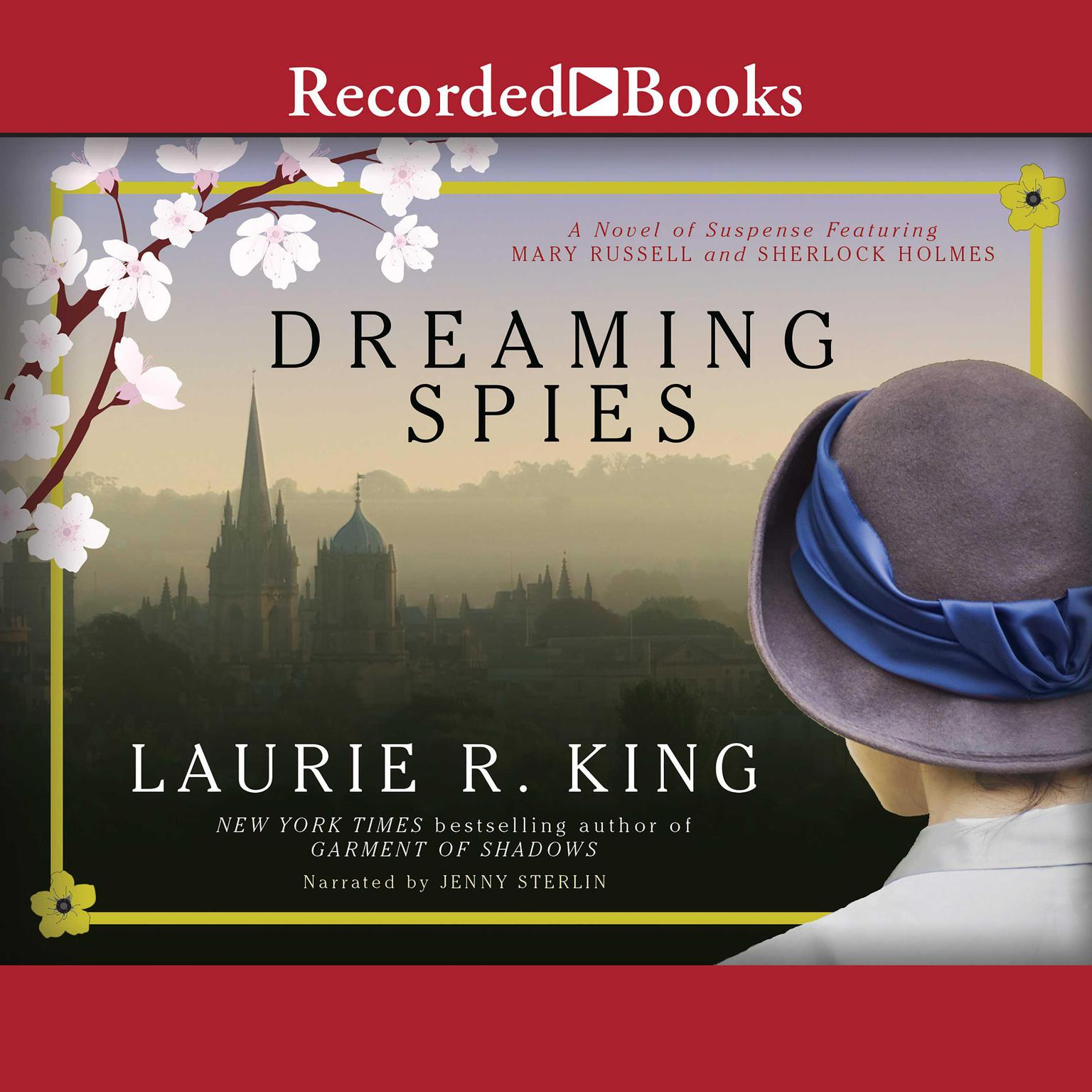 Printable Dreaming Spies Audiobook Cover Art