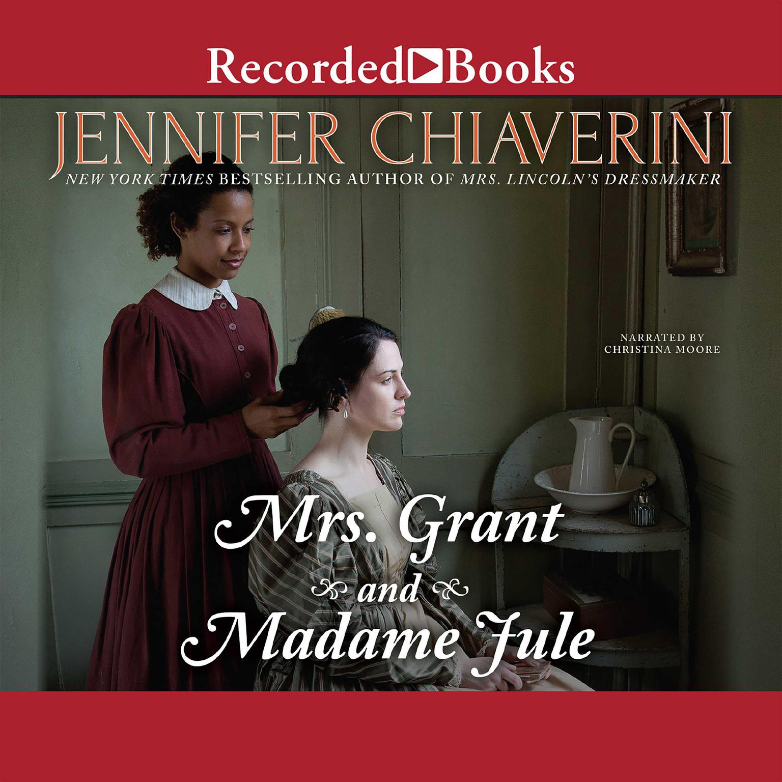 Printable Mrs. Grant and Madame Jule Audiobook Cover Art