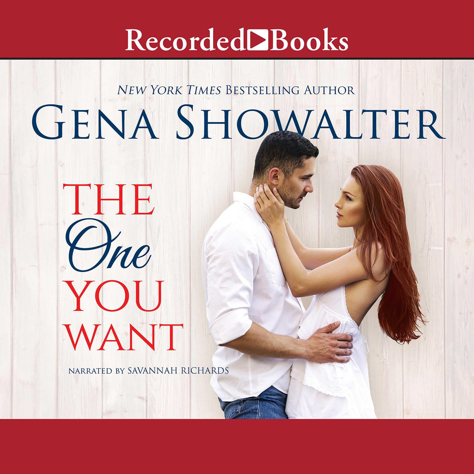 Printable The One You Want Audiobook Cover Art