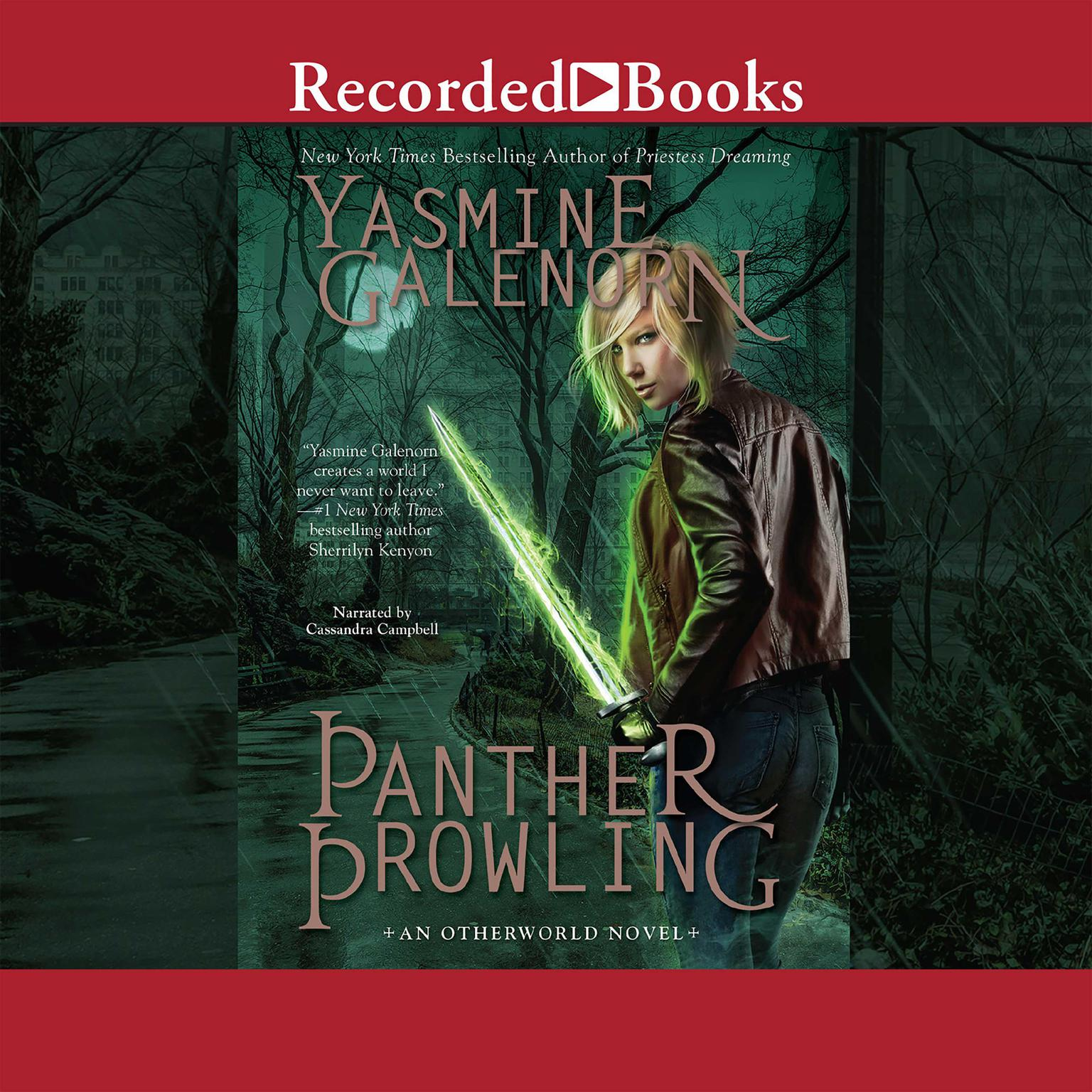 Printable Panther Prowling Audiobook Cover Art