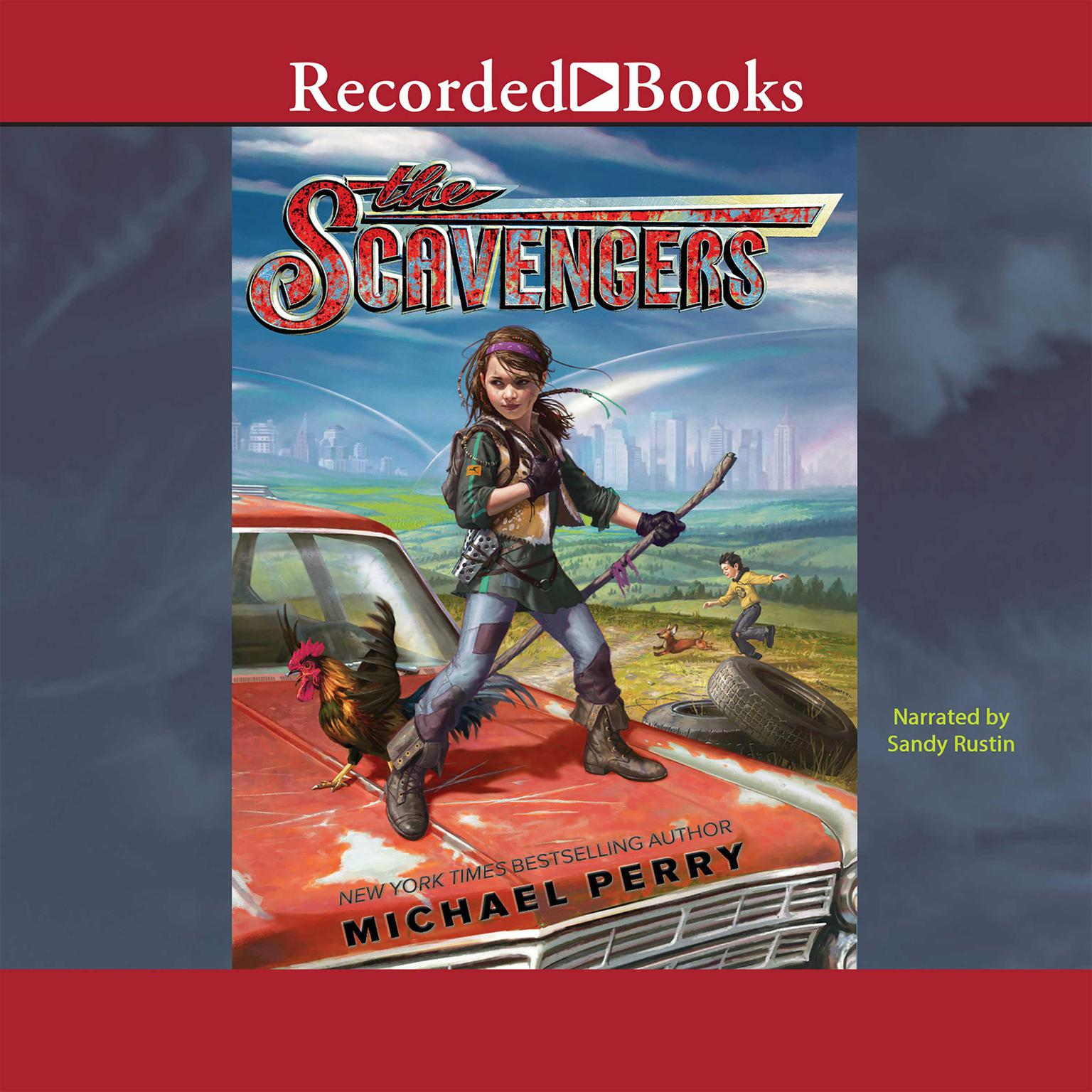 Printable The Scavengers Audiobook Cover Art