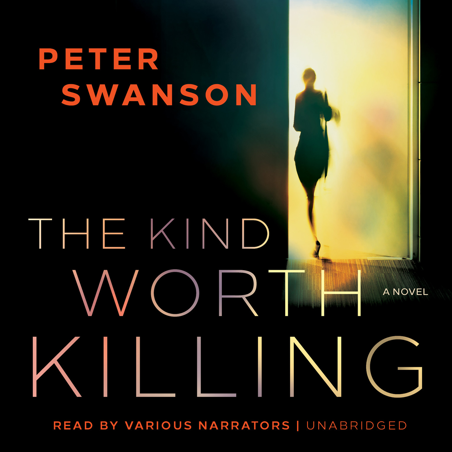 Printable The Kind Worth Killing Audiobook Cover Art