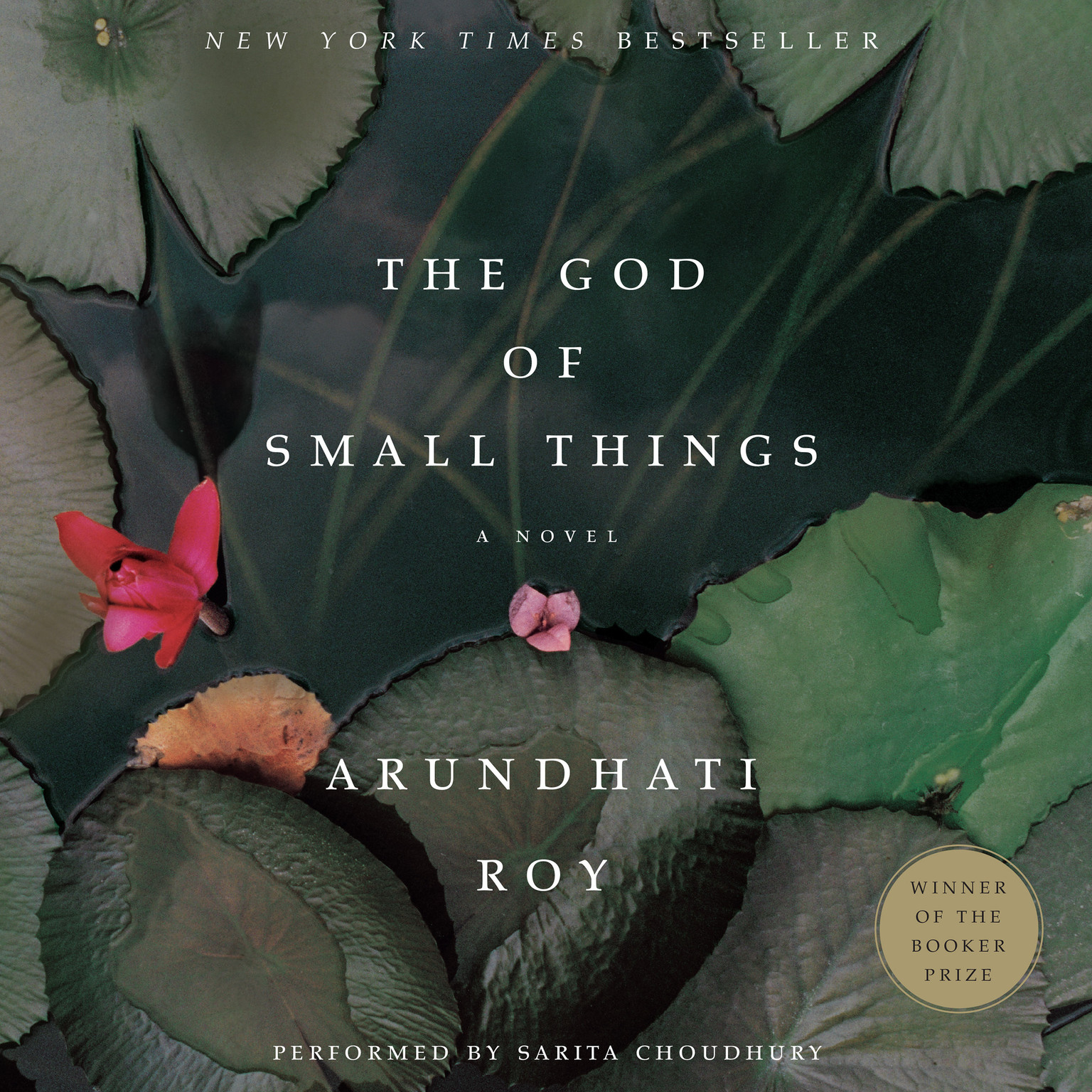 Printable The God of Small Things Audiobook Cover Art