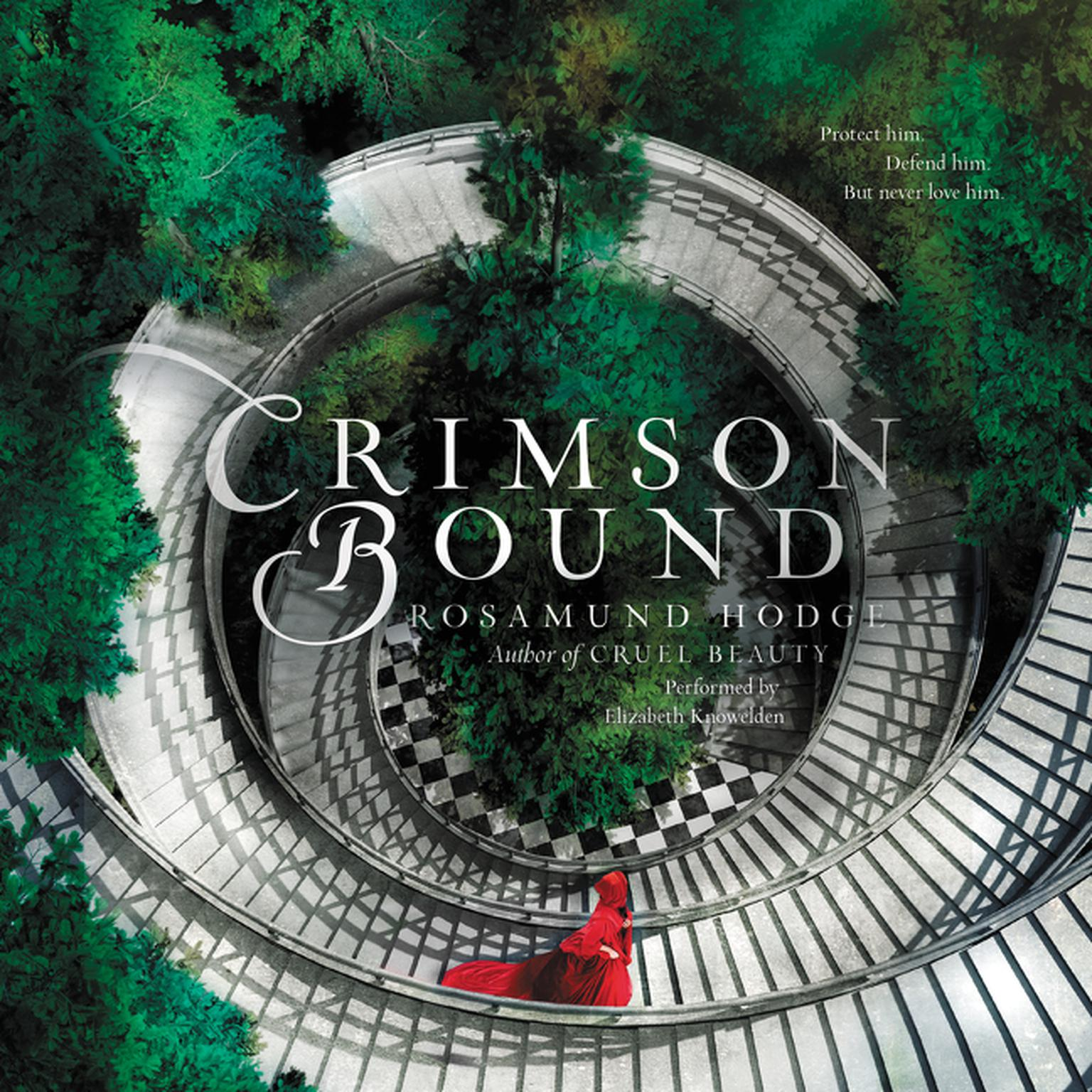 Printable Crimson Bound Audiobook Cover Art
