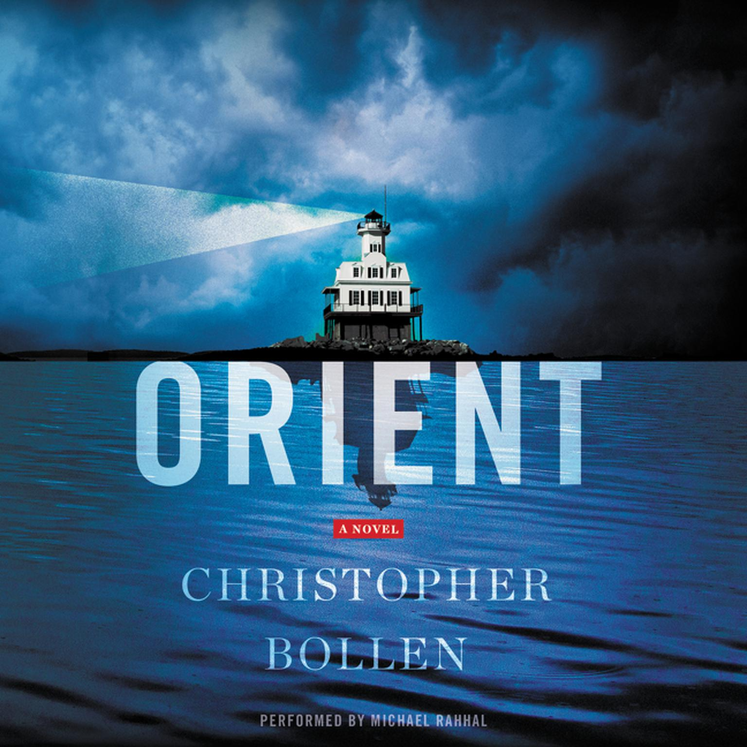 Printable Orient: A Novel Audiobook Cover Art